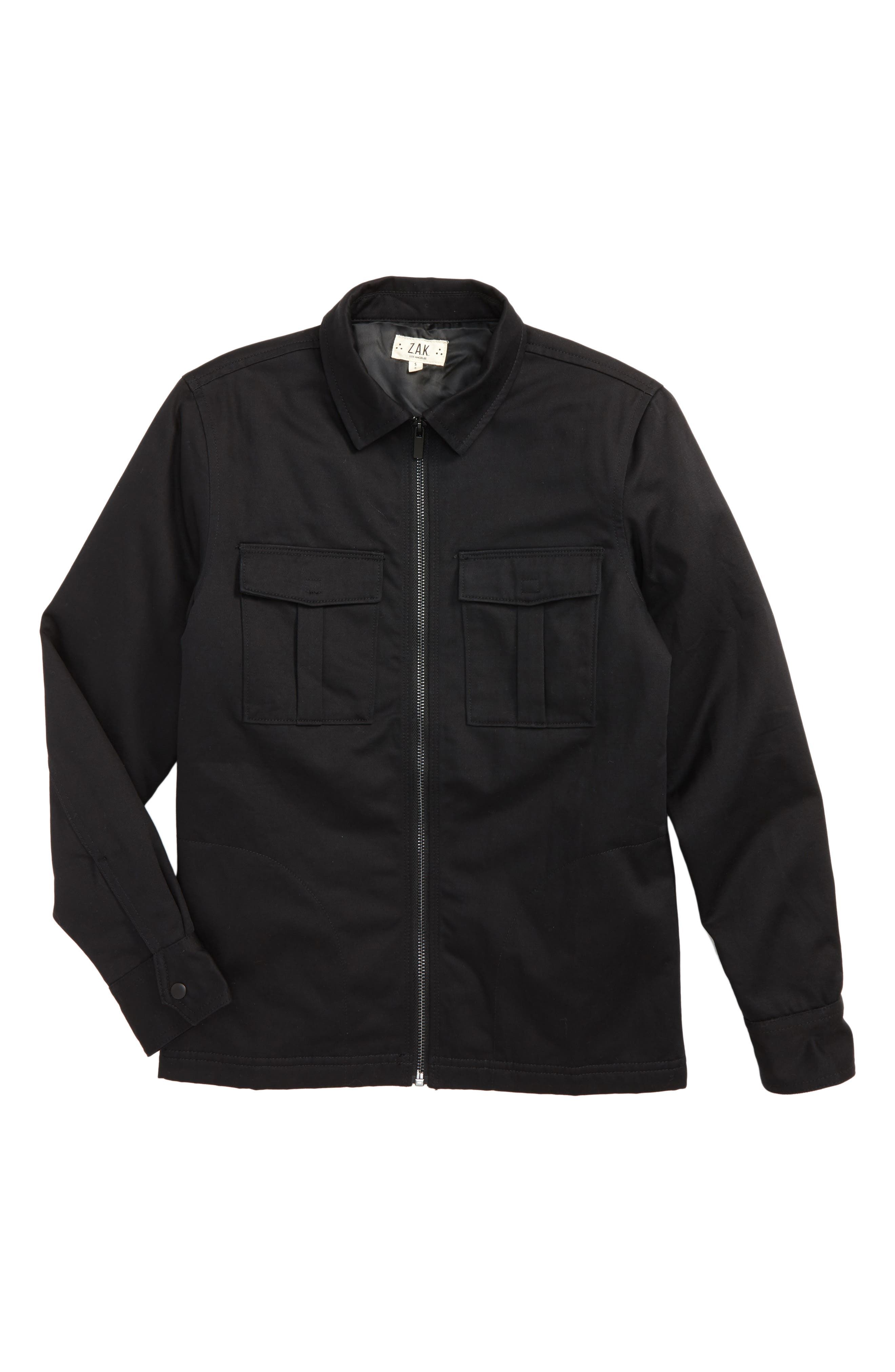 Lost Angeles Jacket,                             Main thumbnail 1, color,                             Black