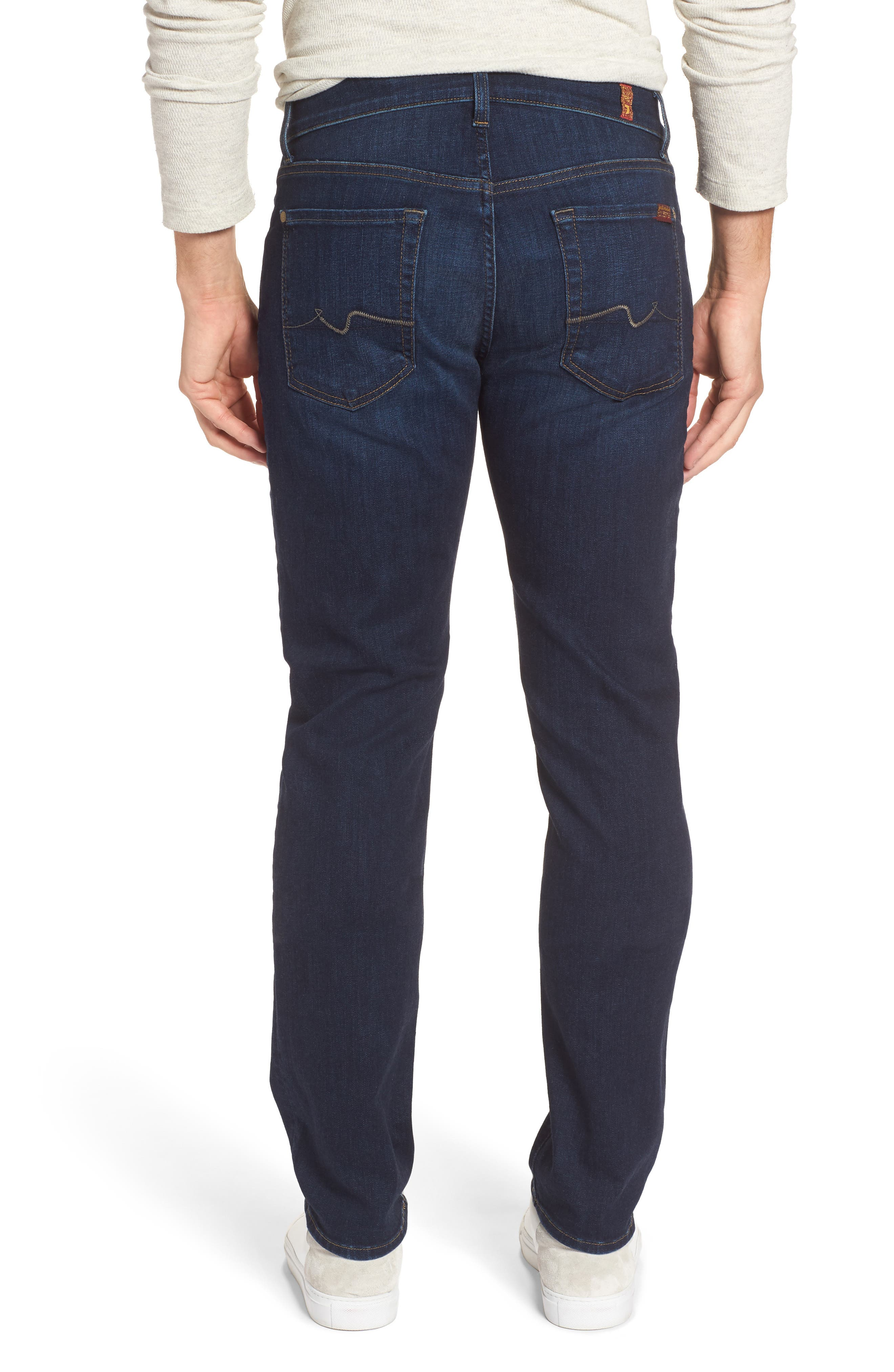 Alternate Image 2  - 7 For All Mankind® The Straight Slim Straight Leg Jeans (Valley)