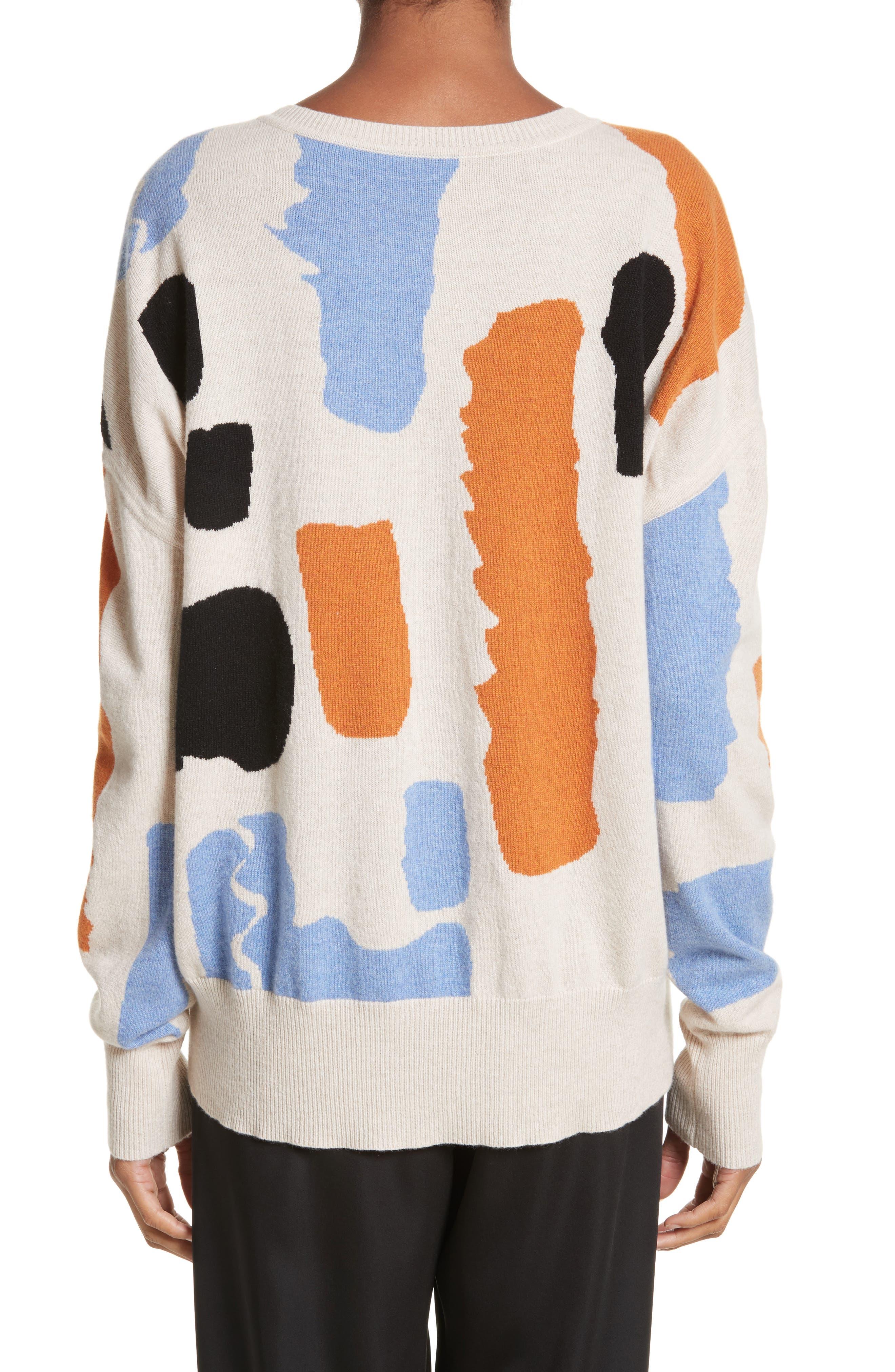 Palette Cashmere & Merino Wool Sweater,                             Alternate thumbnail 2, color,                             Palette Greige