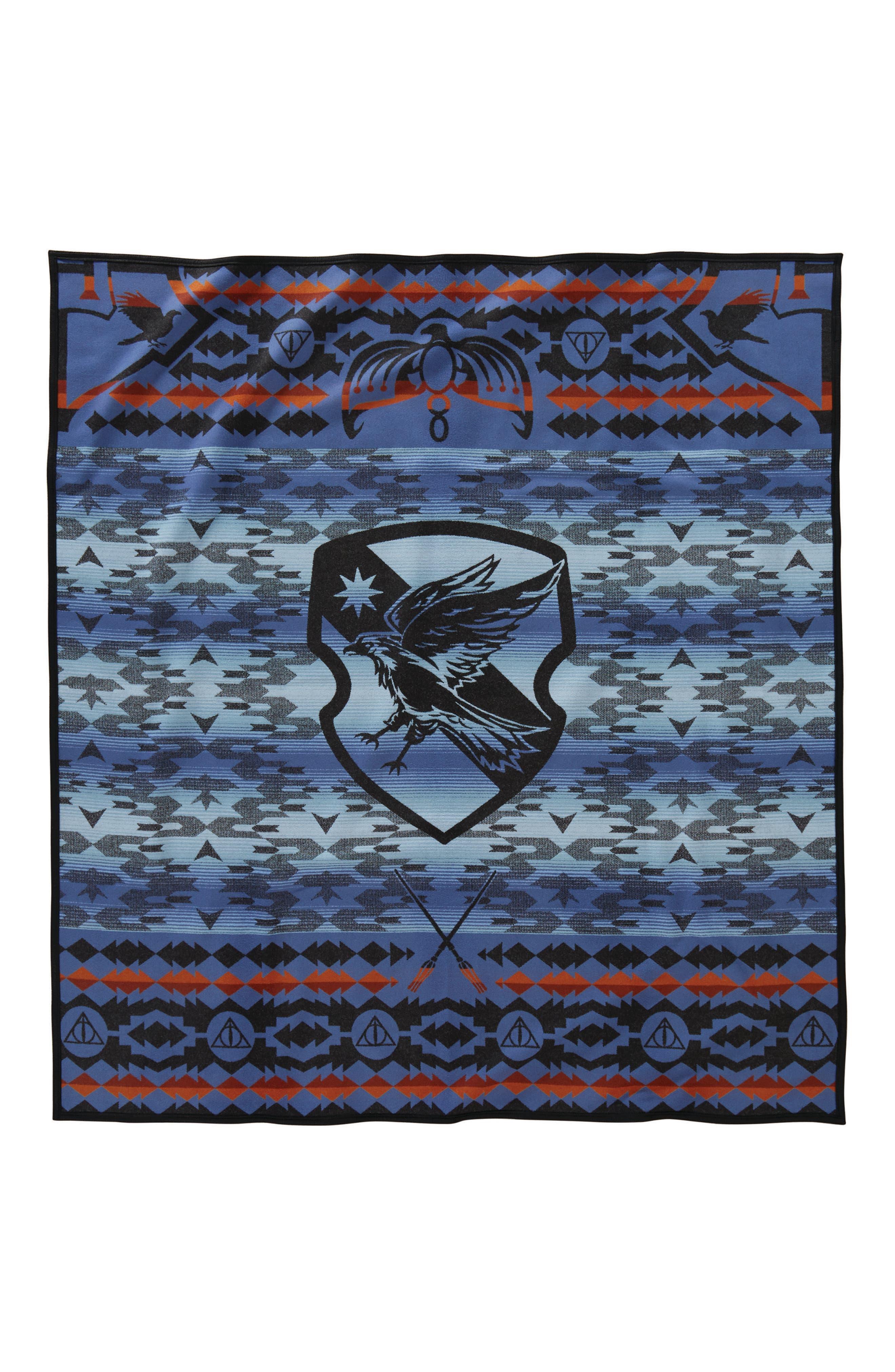 Harry Potter - Ravenclaw Blanket,                         Main,                         color, Blue