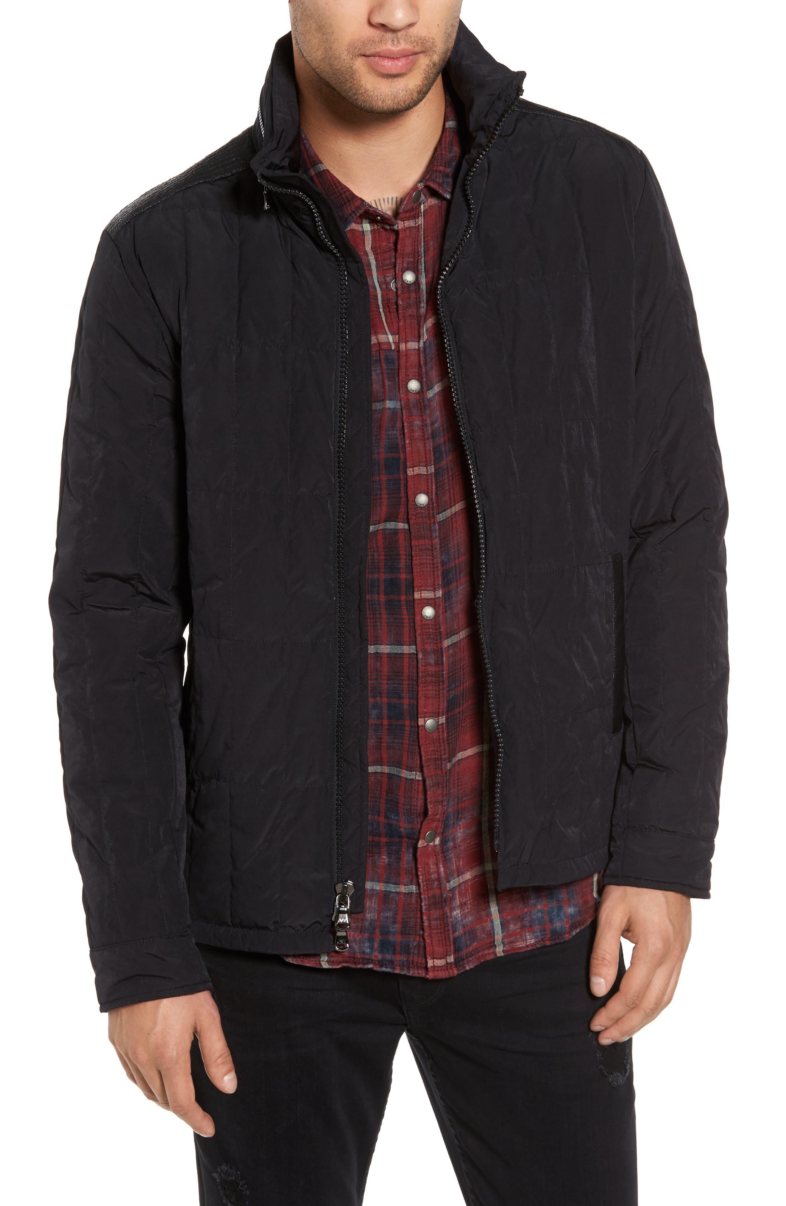 Main Image - John Varvatos Star USA Quilted Down Jacket