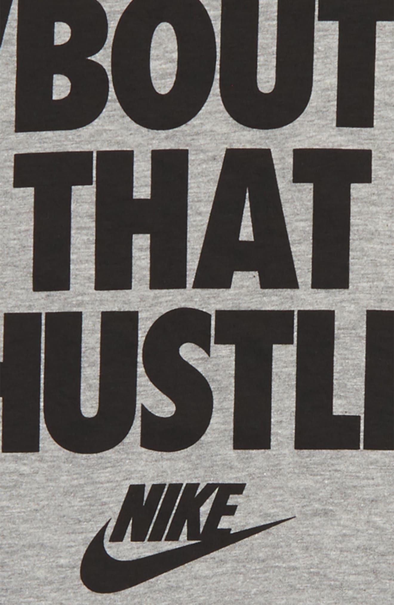 Hustle Graphic T-Shirt,                             Alternate thumbnail 2, color,                             D Gr H