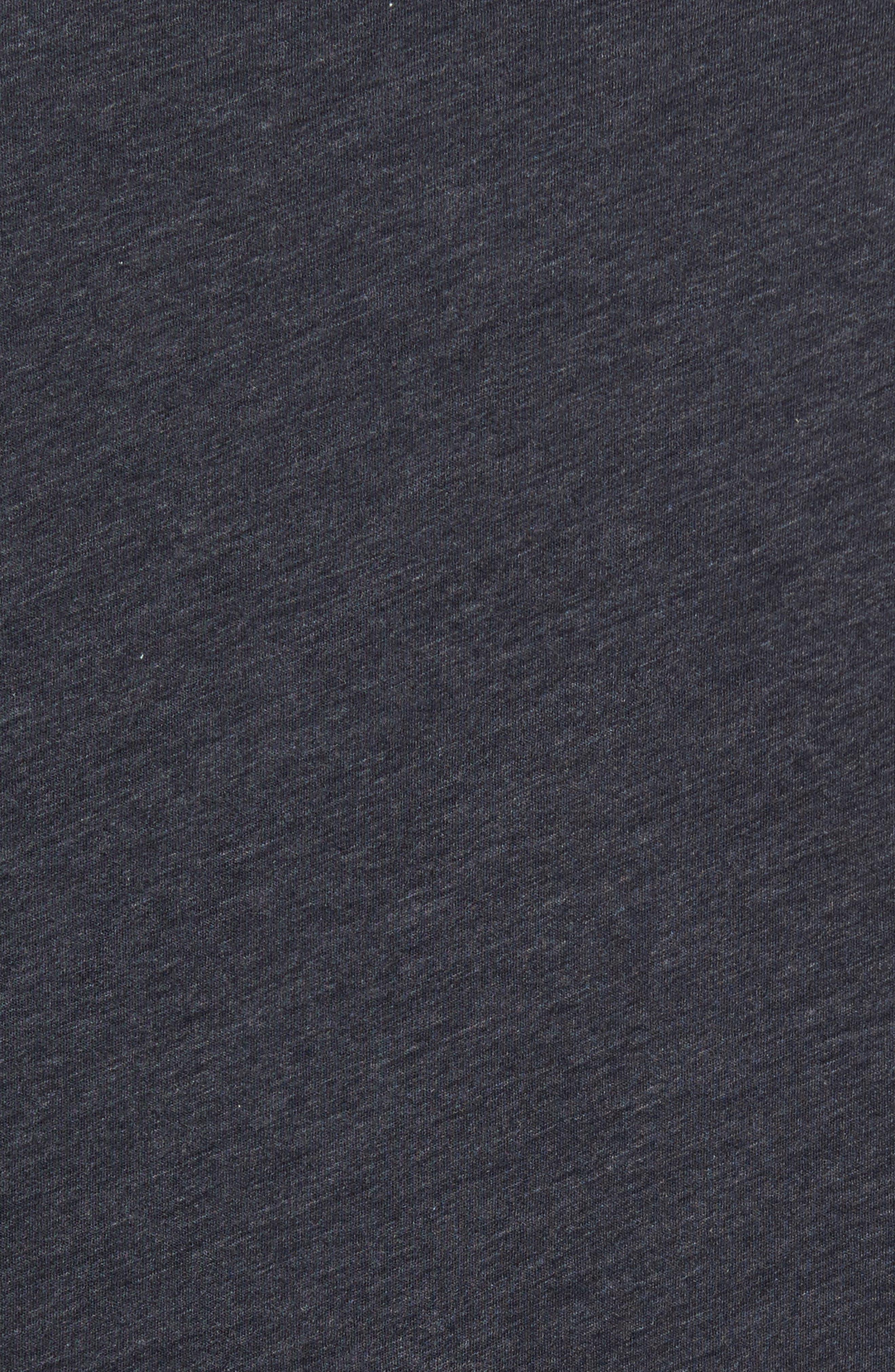 Alternate Image 5  - James Perse Long Sleeve Cotton & Cashmere Henley T-Shirt