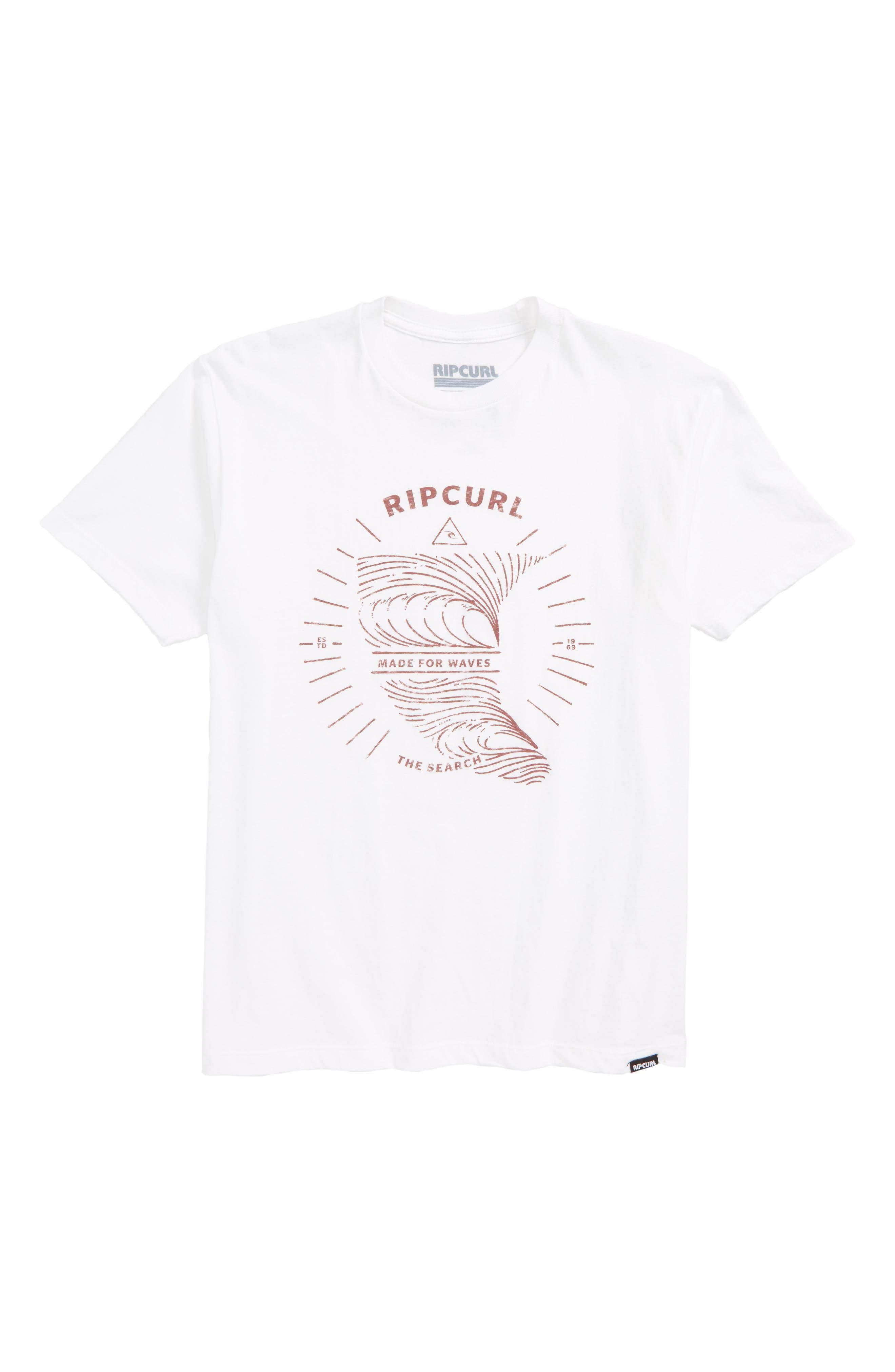 Rip Curl The Fin Premium T-Shirt (Little Boys & Big Boys)