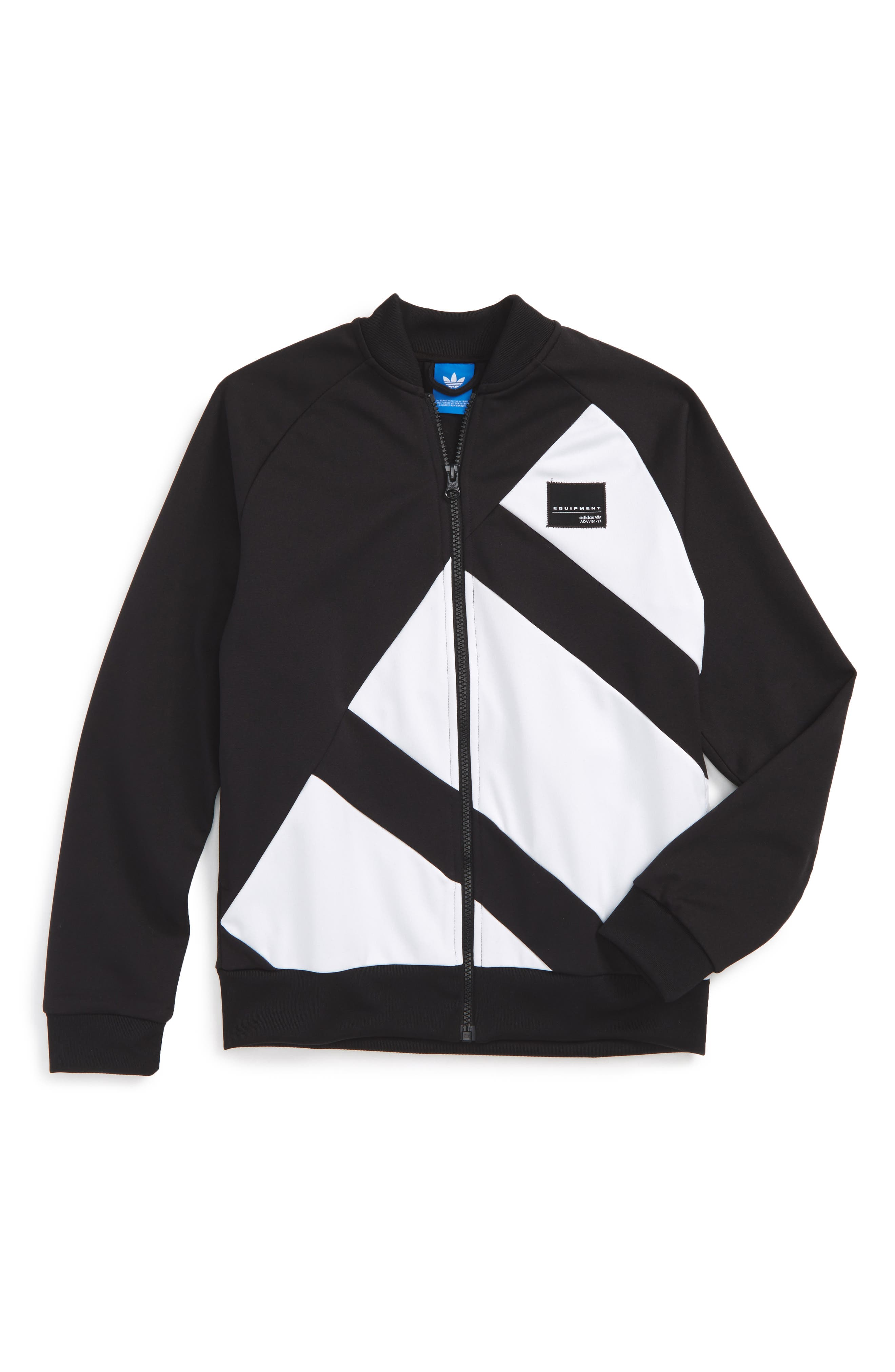 adidas Originals EQT Track Jacket (Little Boys & Big Boys)