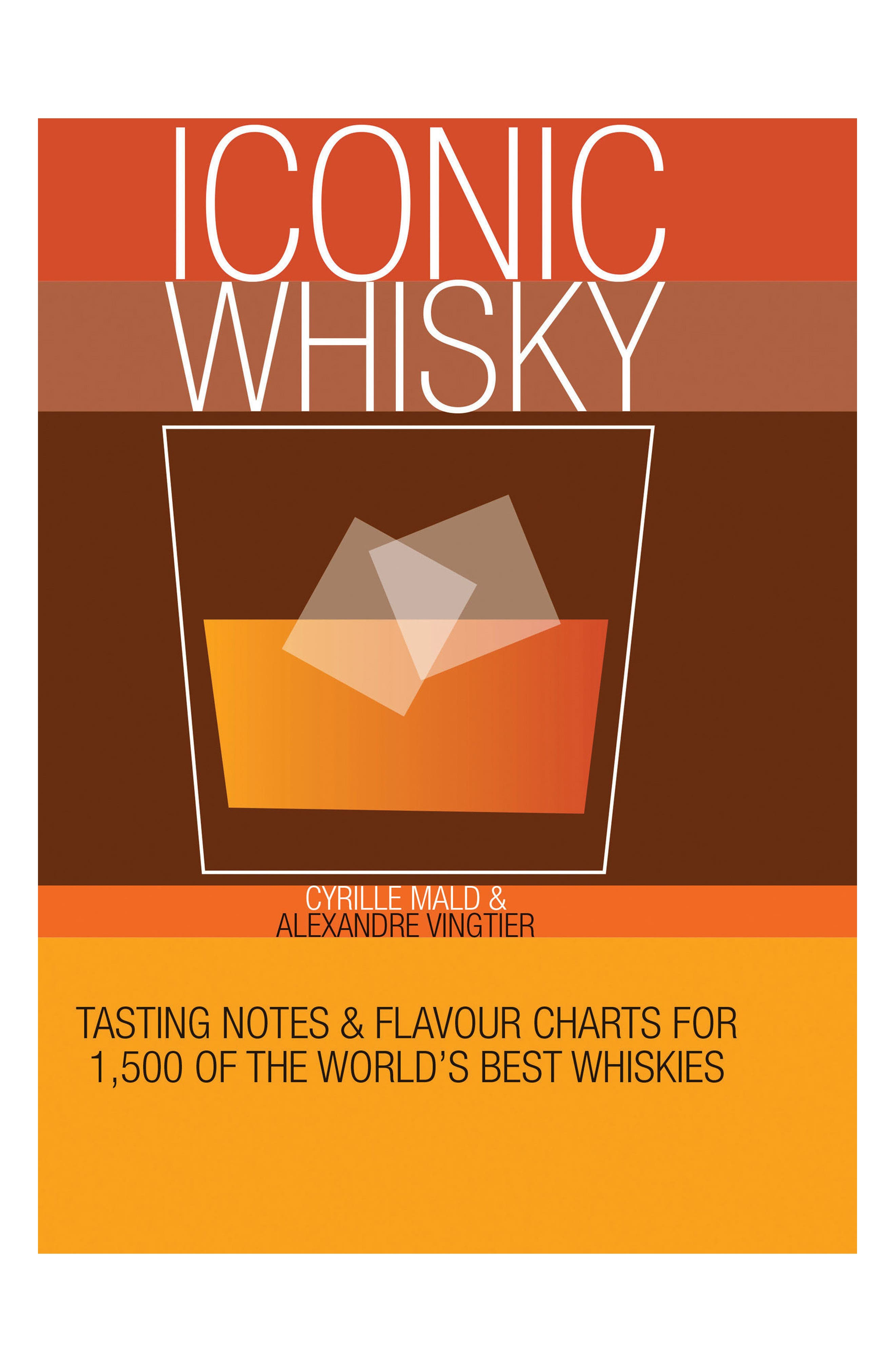 Iconic Whisky Book,                             Main thumbnail 1, color,                             Red
