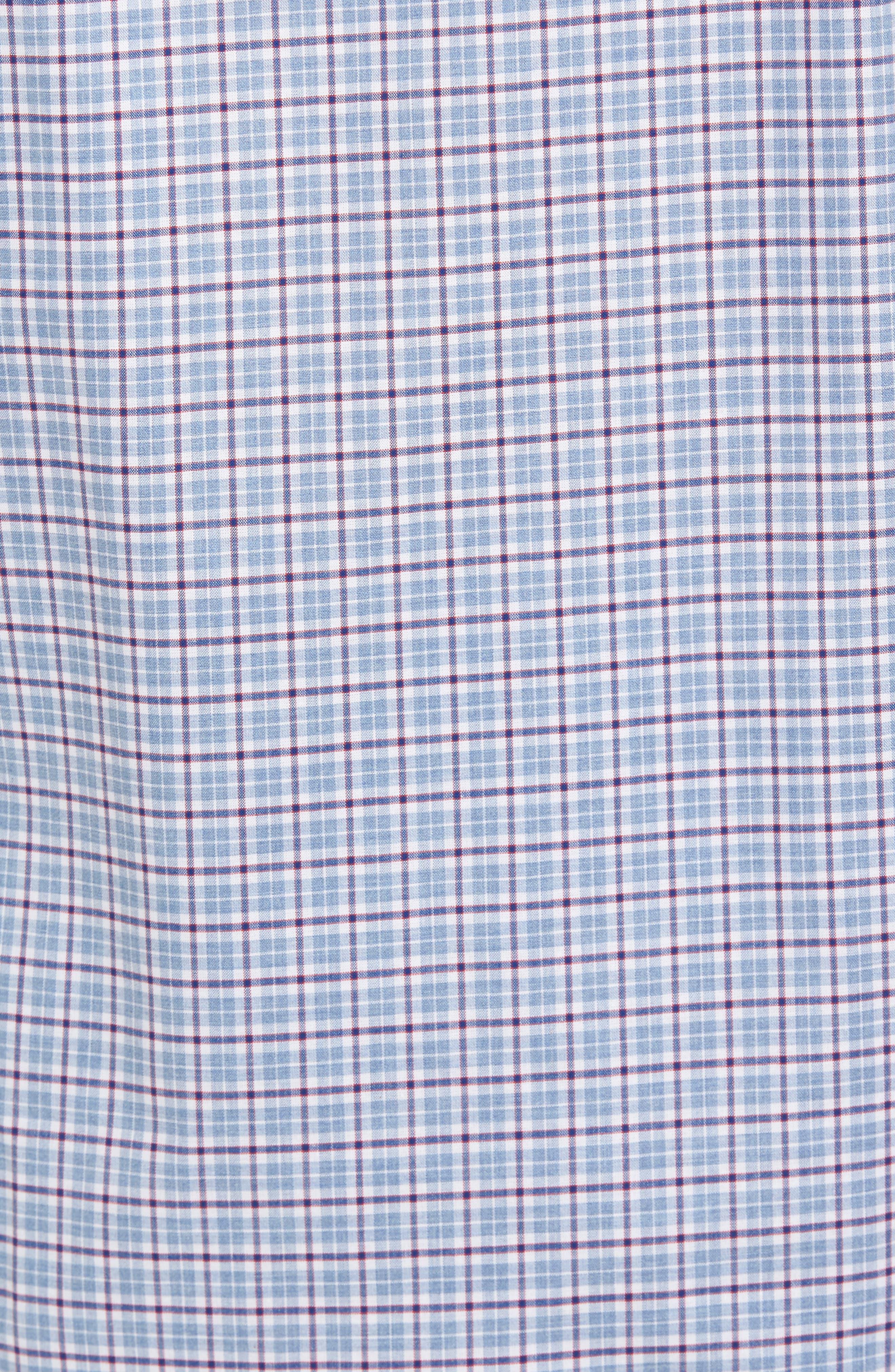 Alternate Image 5  - Nordstrom Men's Shop Non-Iron Regular Fit Check Sport Shirt