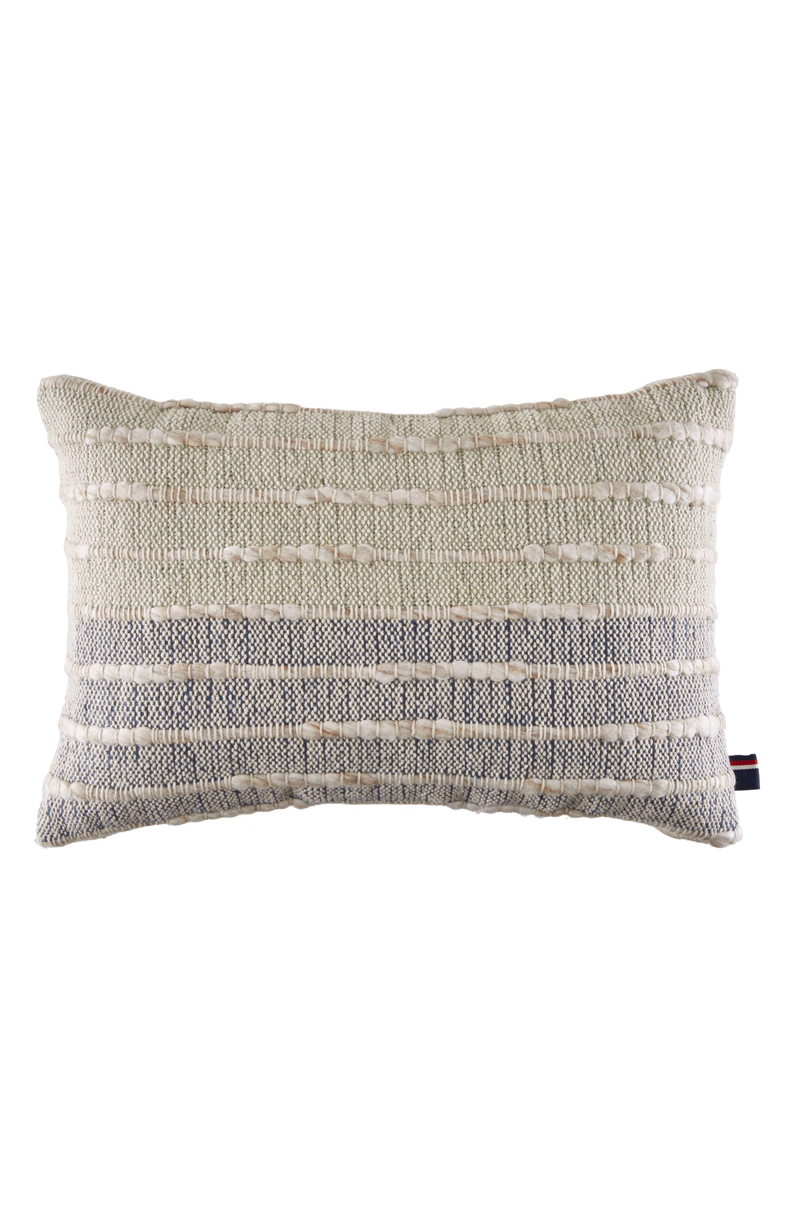 Ombré Indigo Accent Pillow,                         Main,                         color, Neutral/ Indigo