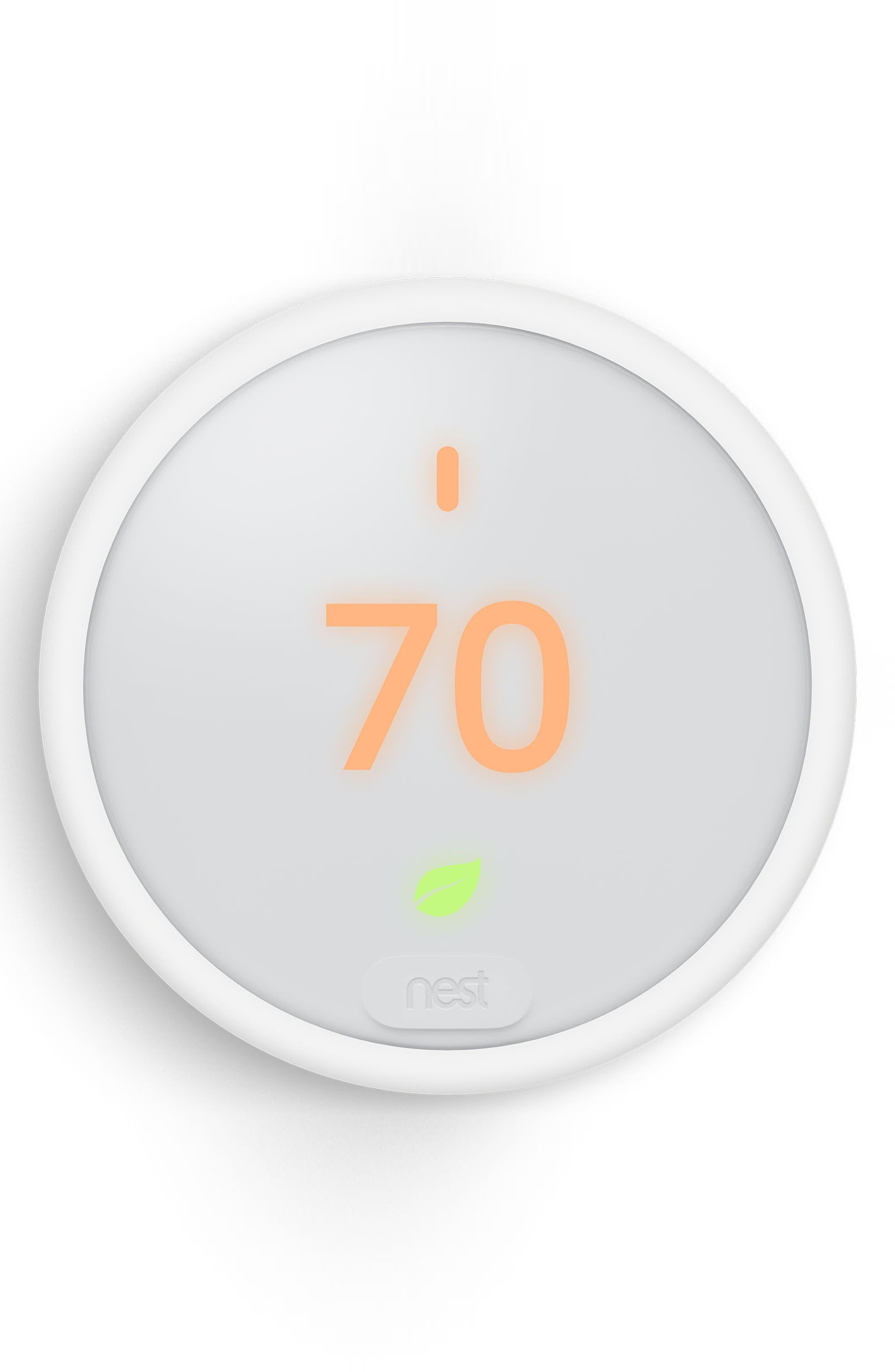 Thermostat E,                             Main thumbnail 1, color,                             White