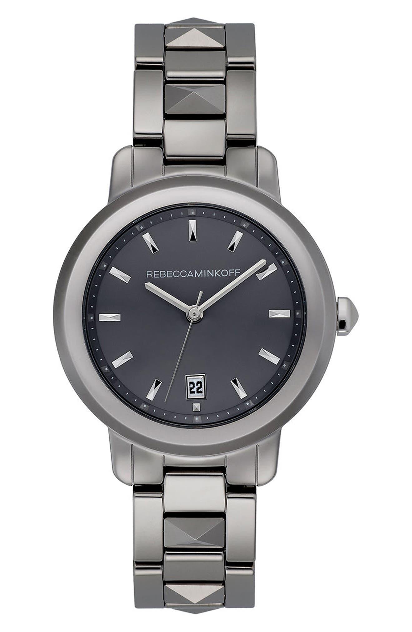 BFFL Bracelet Watch, 36mm,                         Main,                         color, Silver