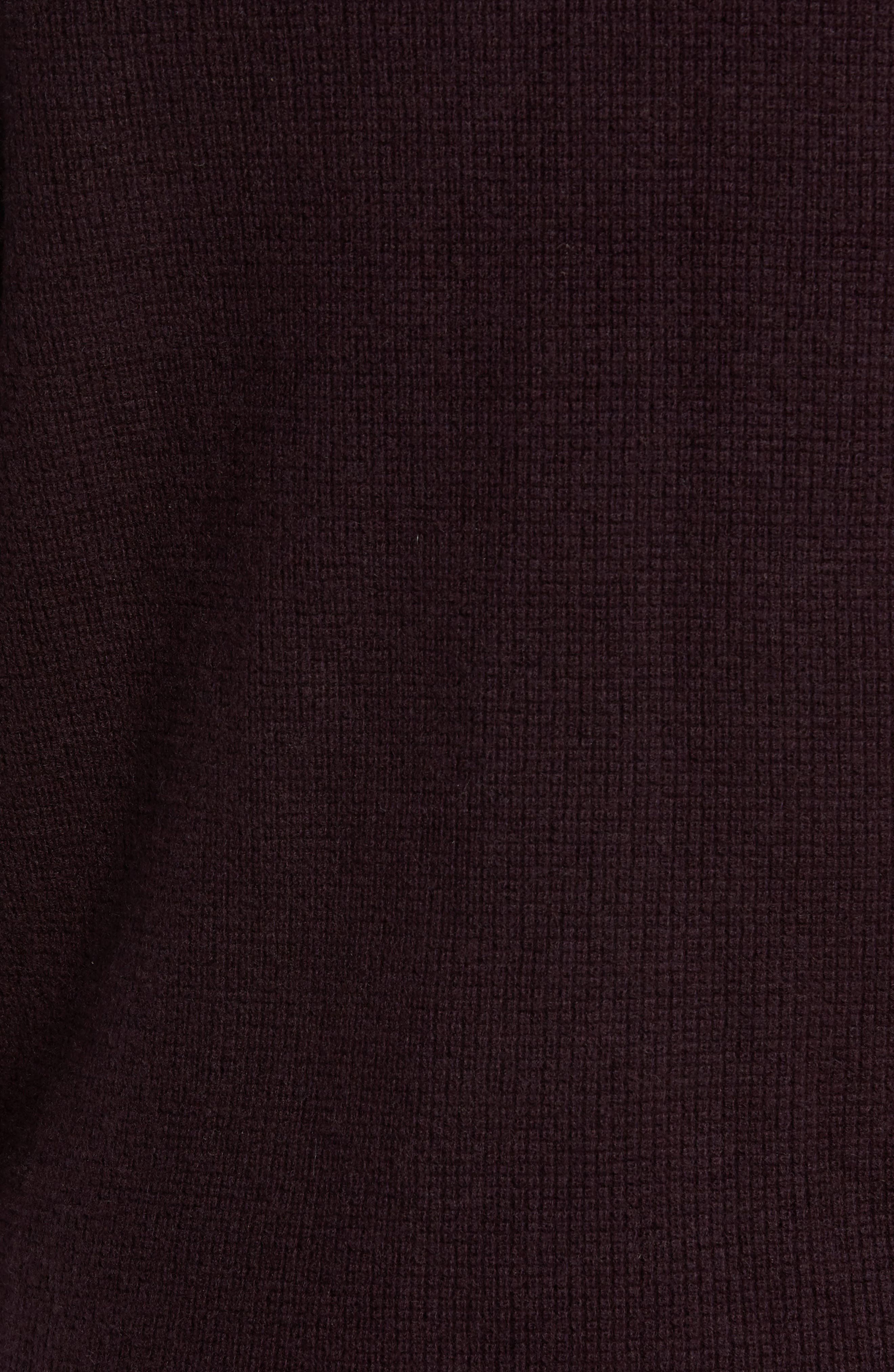 Alternate Image 5  - Vince Thermal Wool & Cashmere Sweater
