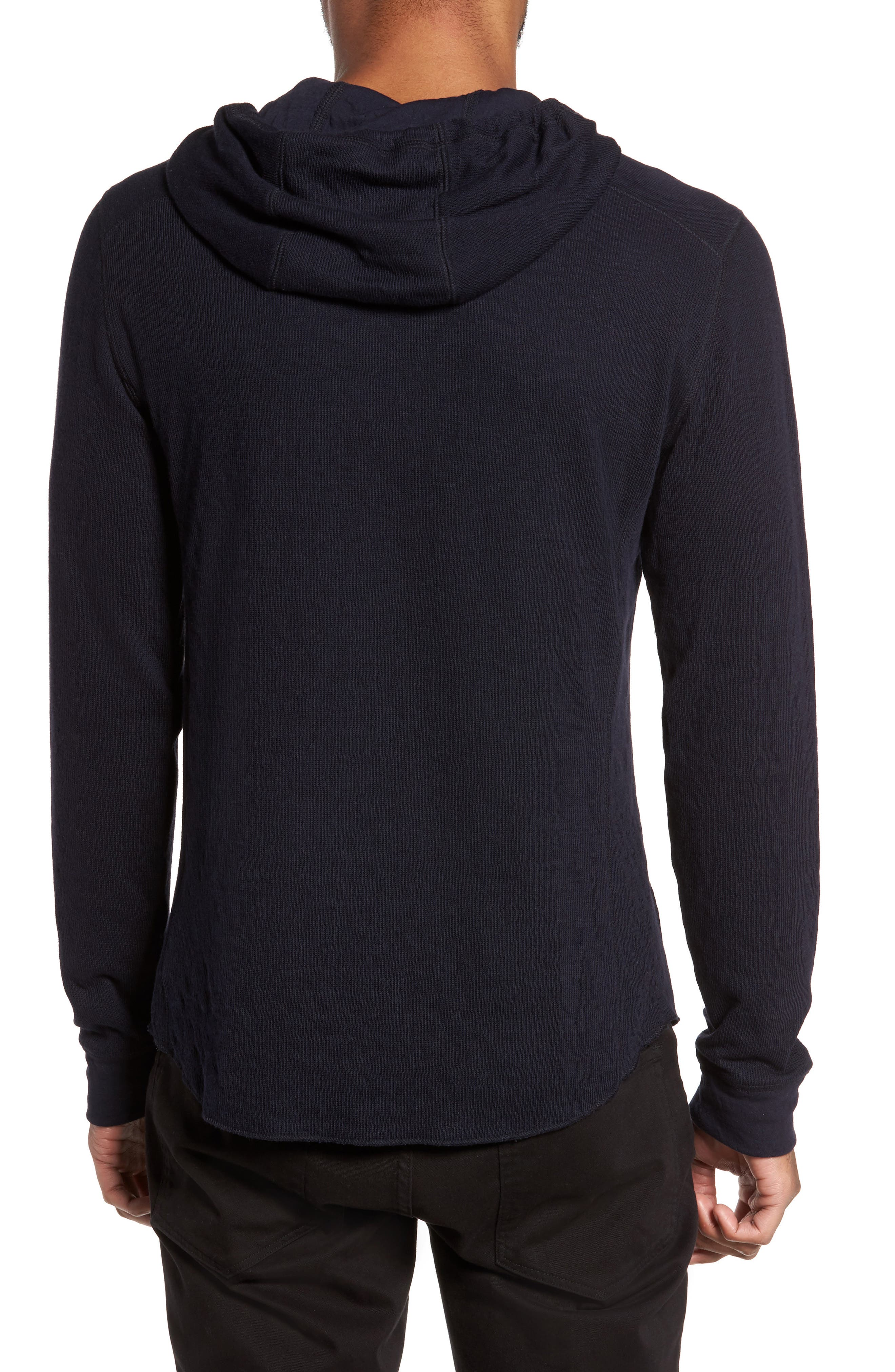 Alternate Image 2  - Vince Double Knit Hoodie