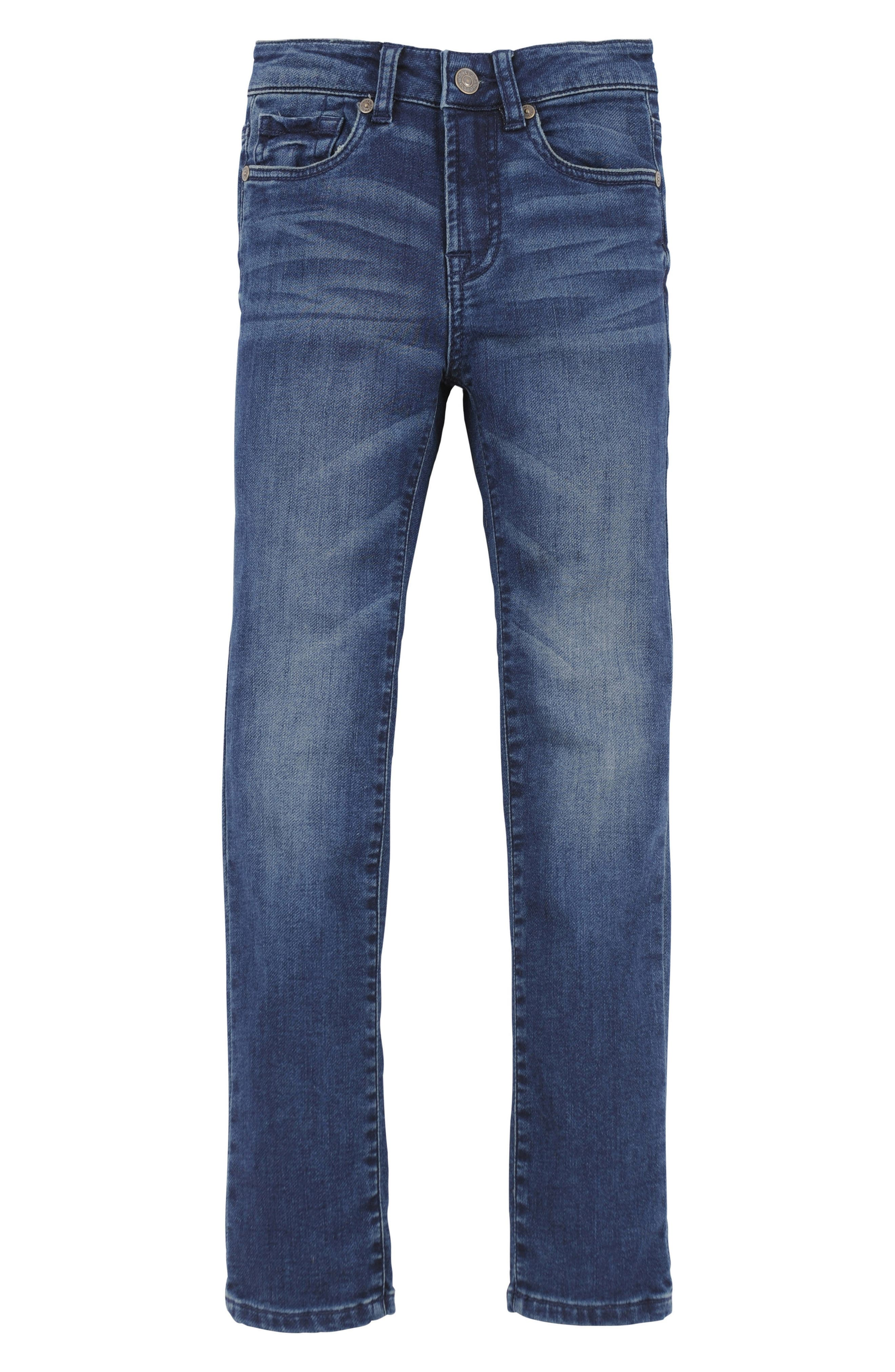 Main Image - 7 For All Mankind® Slimmy Luxe Sport Jeans (Little Boys)