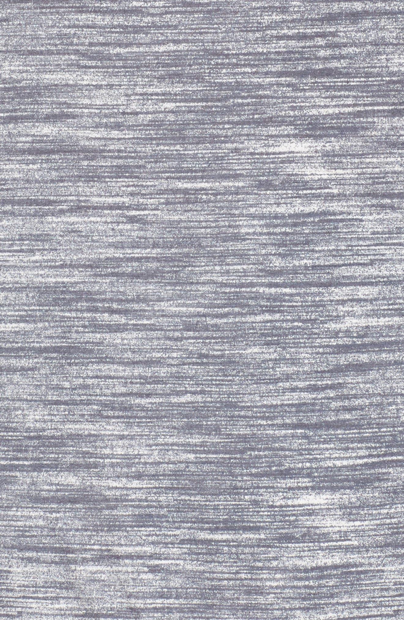Alternate Image 5  - Sejour Dolman Sleeve Space Dye Tee (Plus Size)