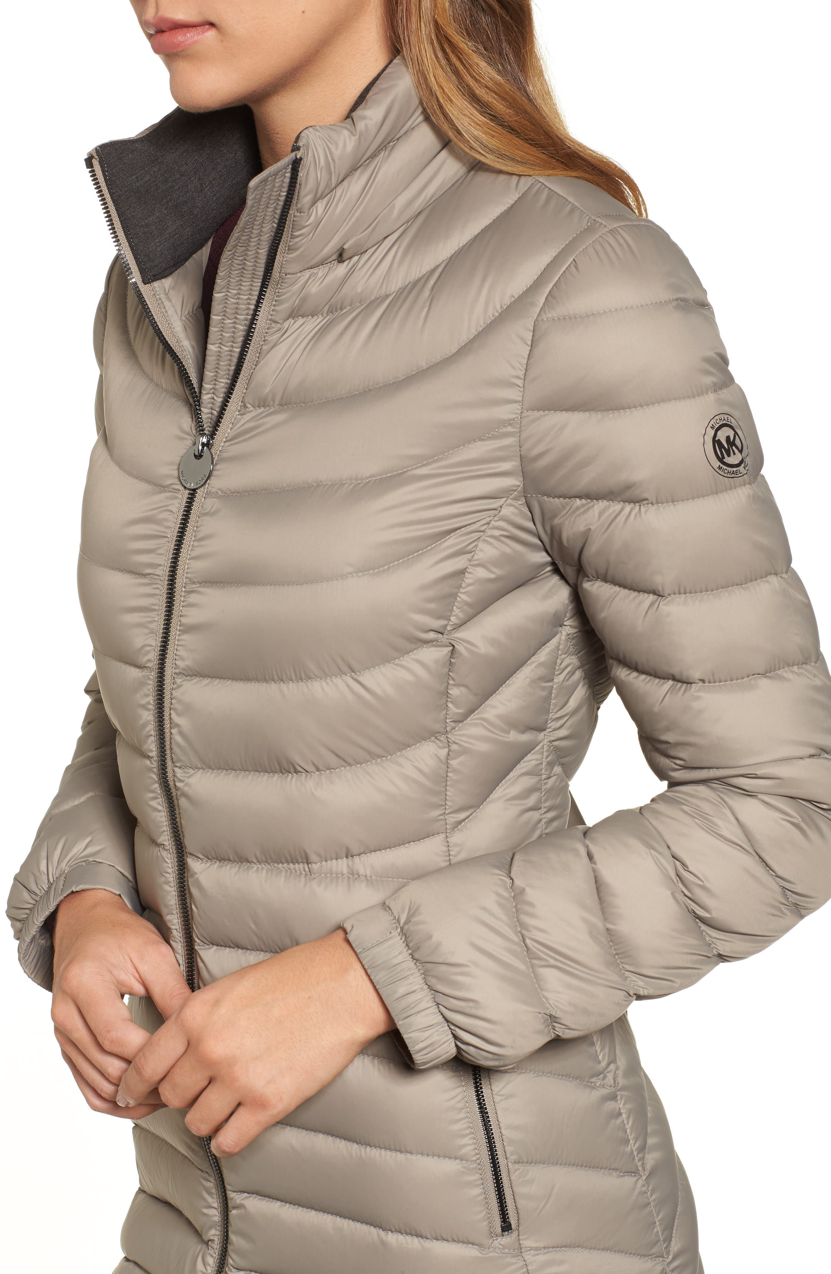 Alternate Image 4  - MICHAEL Michael Kors Hooded Down Coat (Regular & Petite)