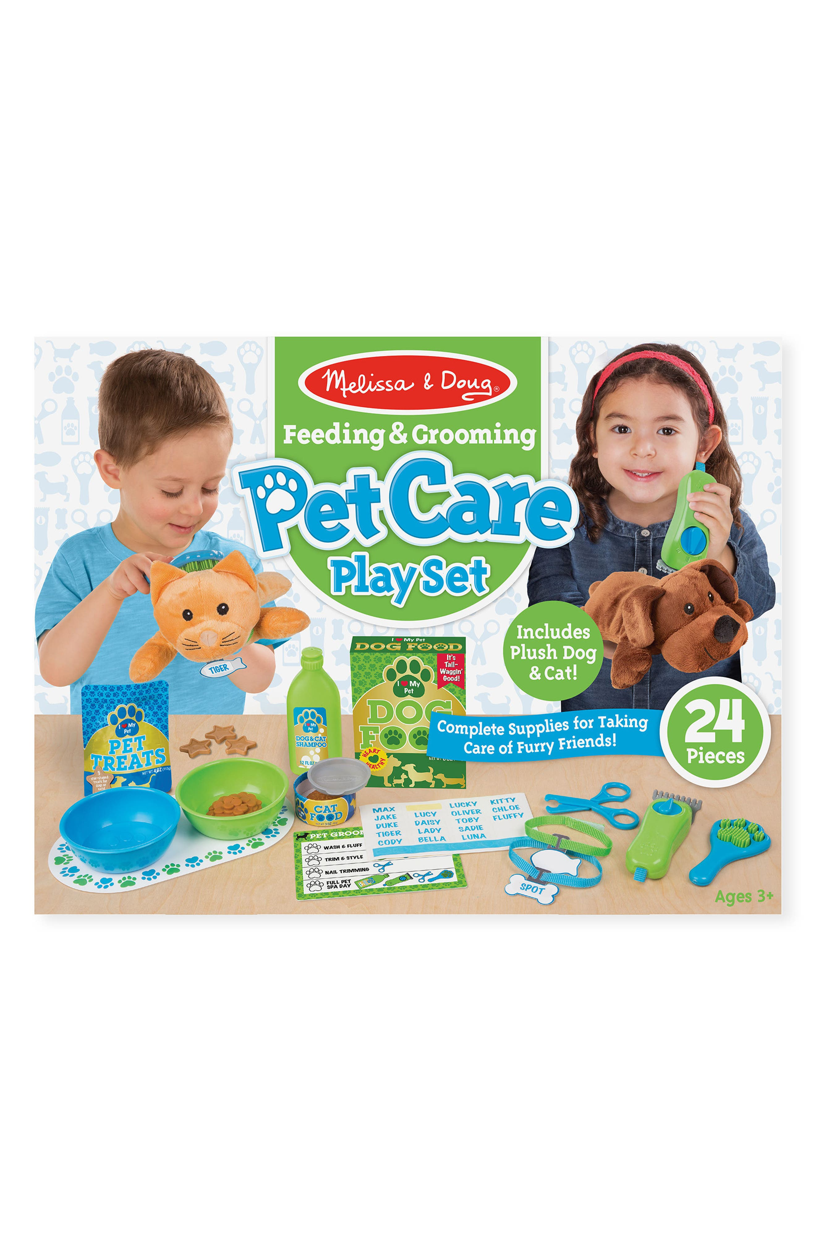 Melissa & Doug 24-Piece Pet Care Play Set