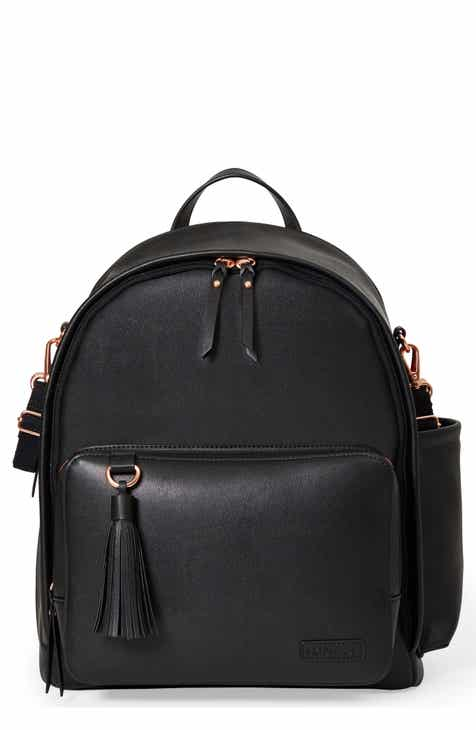 8b9a2b8b3c9f Skip Hop Greenwich Simply Chic Diaper Backpack