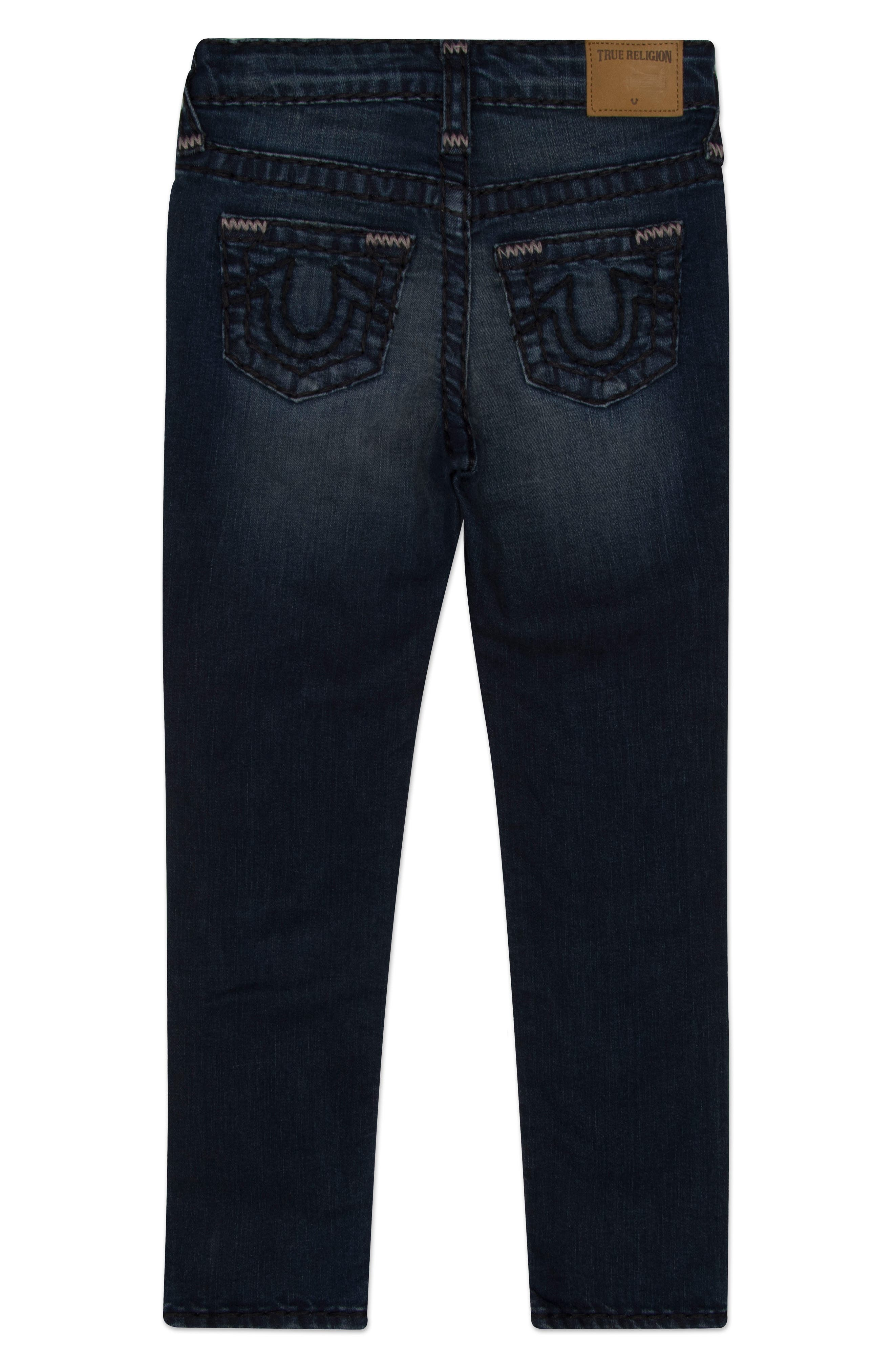 Alternate Image 2  - True Religion Brand Jeans Geno Super T Jeans (Toddler Boys, Little Boys & Big Boys)