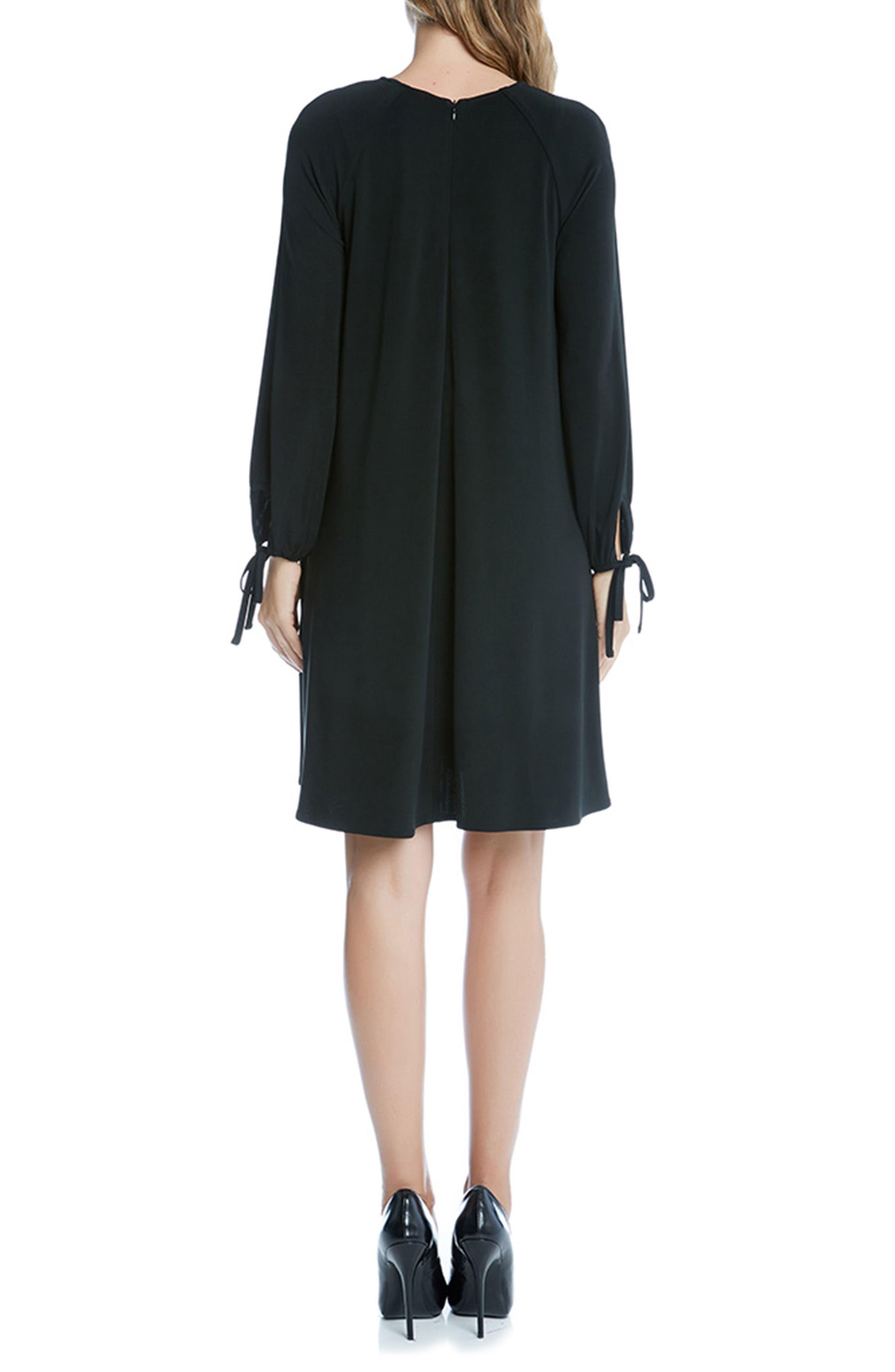 Alternate Image 2  - Karen Kane Tie Sleeve Swing Dress
