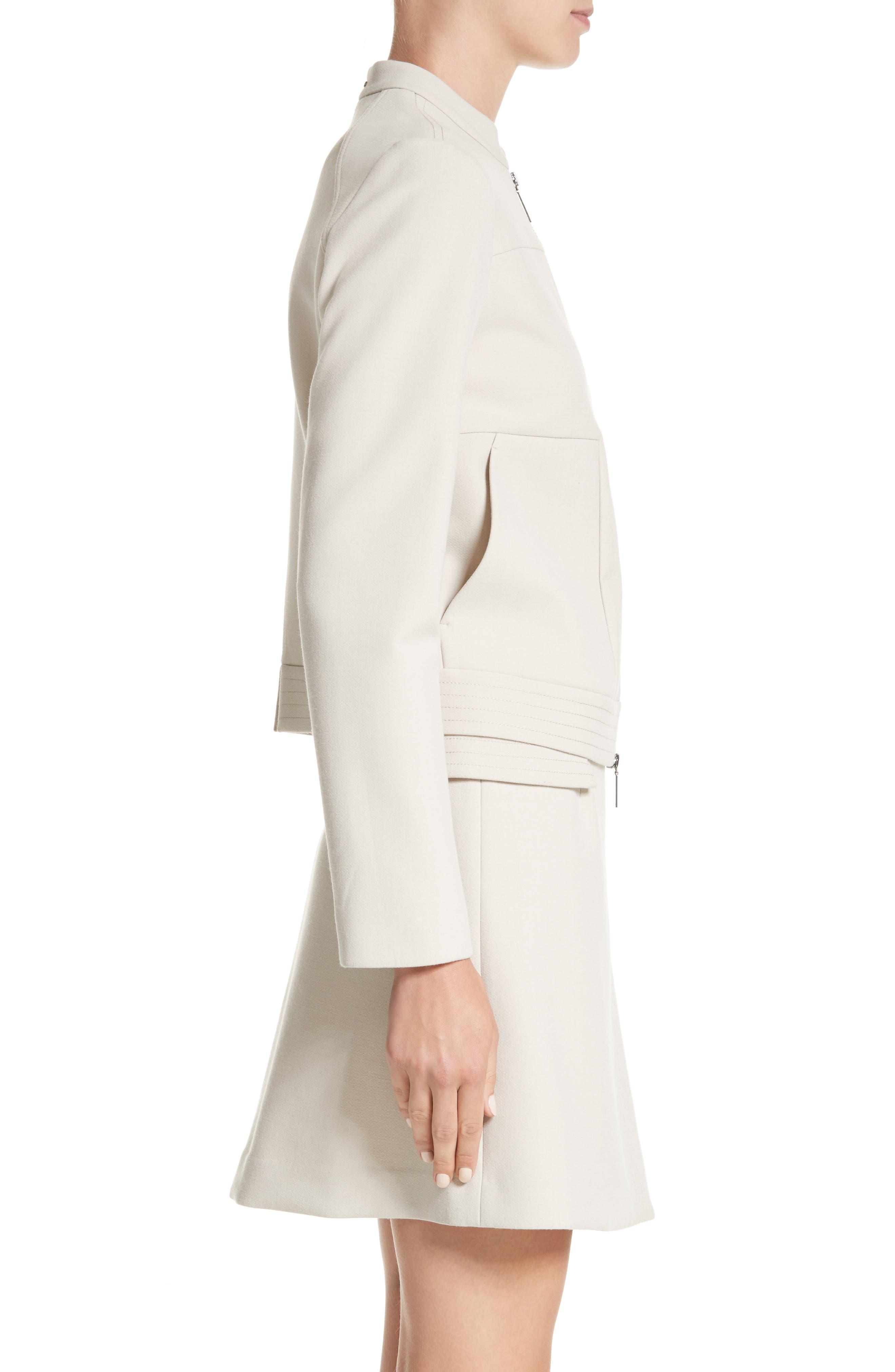 Alternate Image 3  - Armani Collezioni Crepe Jacket