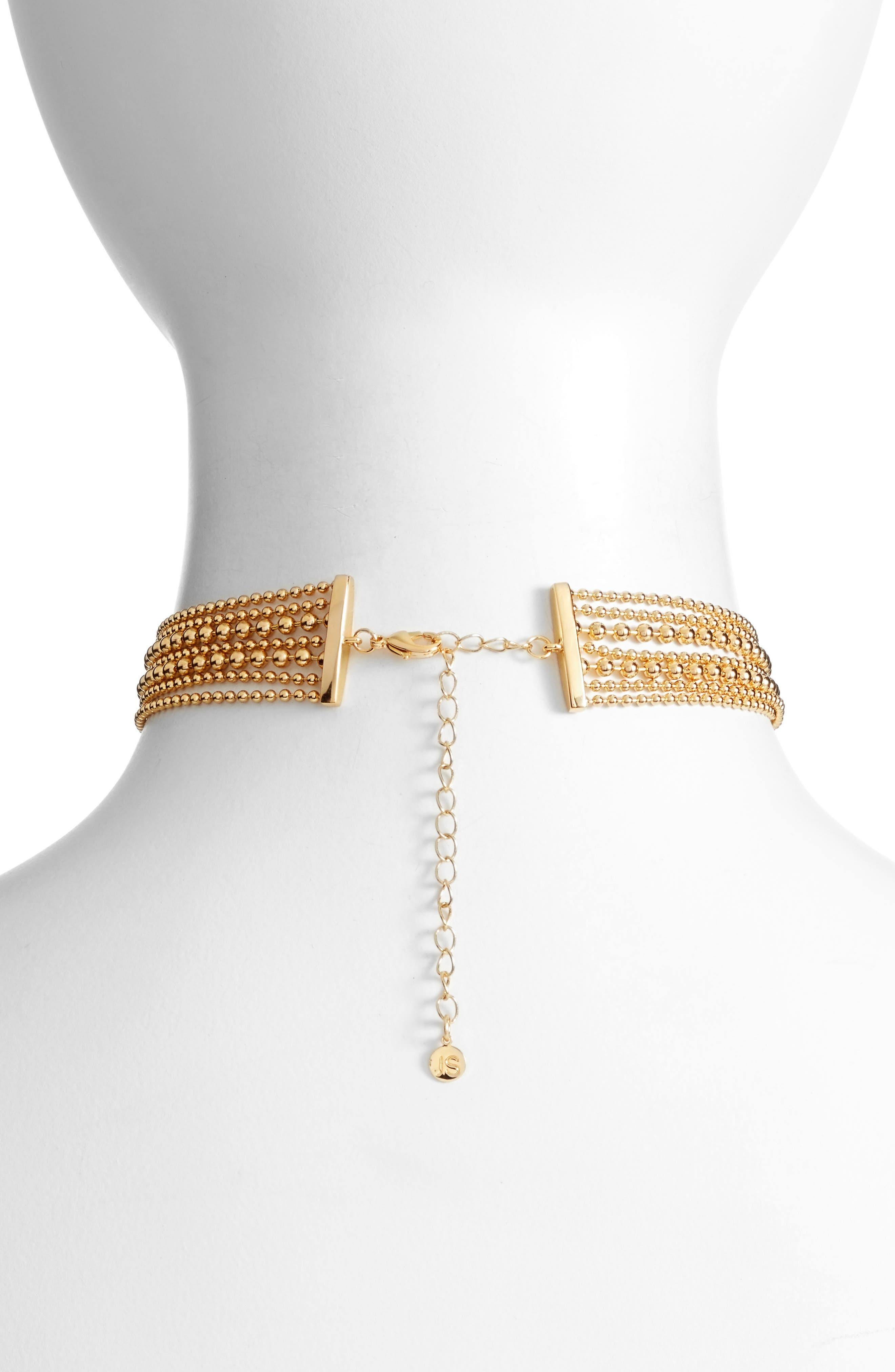 Alternate Image 2  - Jules Smith Elysian Choker Necklace