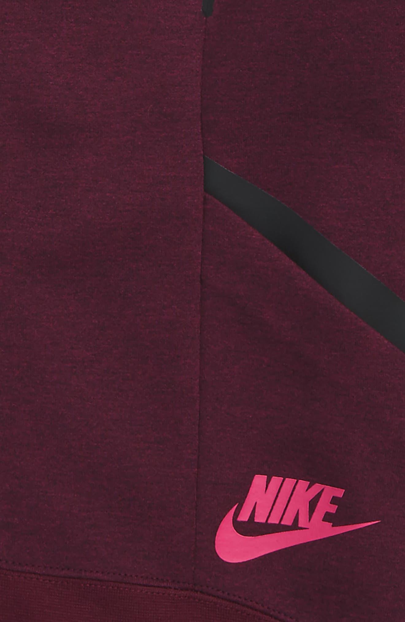 Alternate Image 4  - Nike Tech Fleece Zip Jacket (Big Girls)