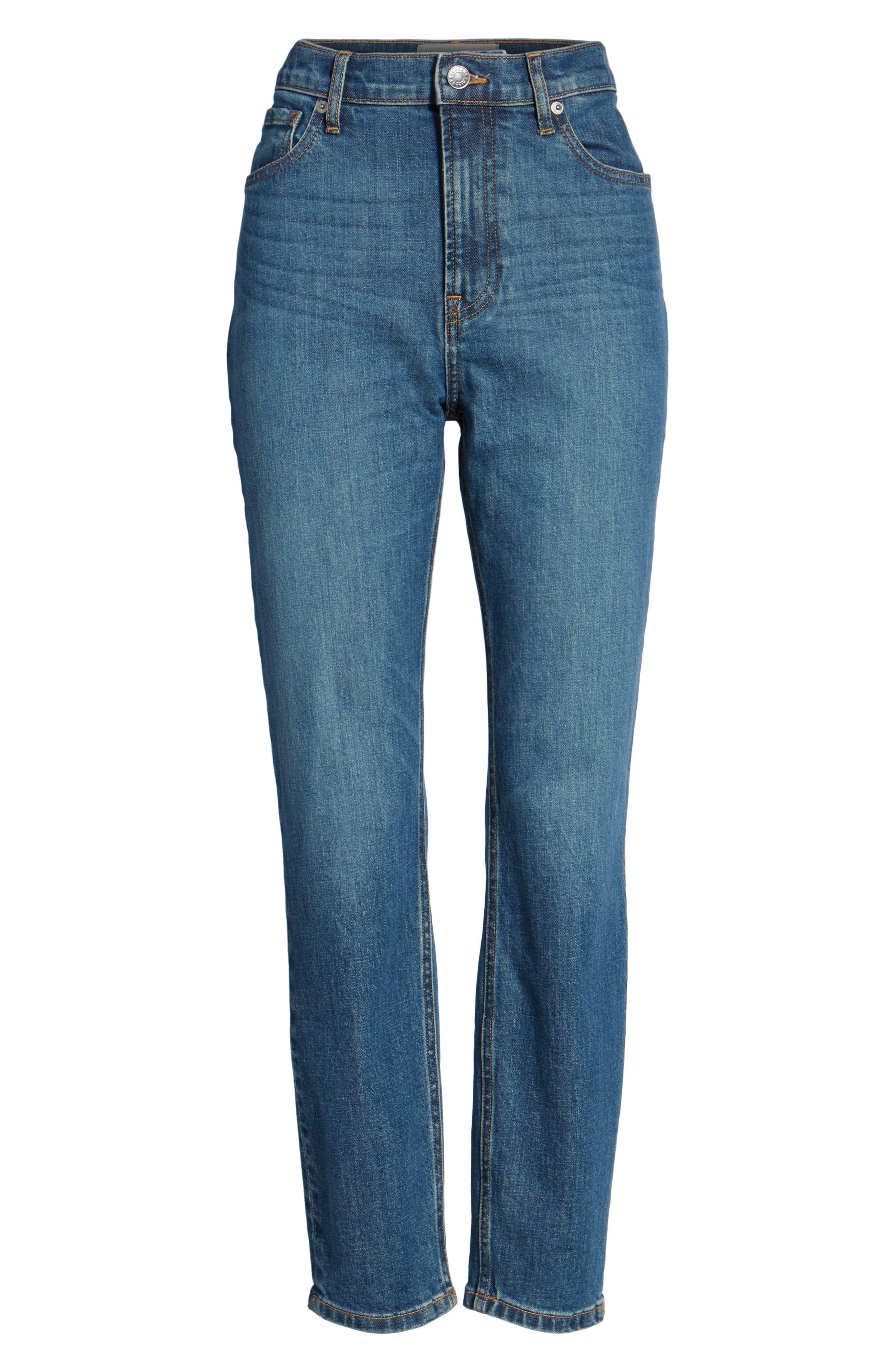 Alternate Image 6  - Everlane The High Rise Skinny Ankle Jeans