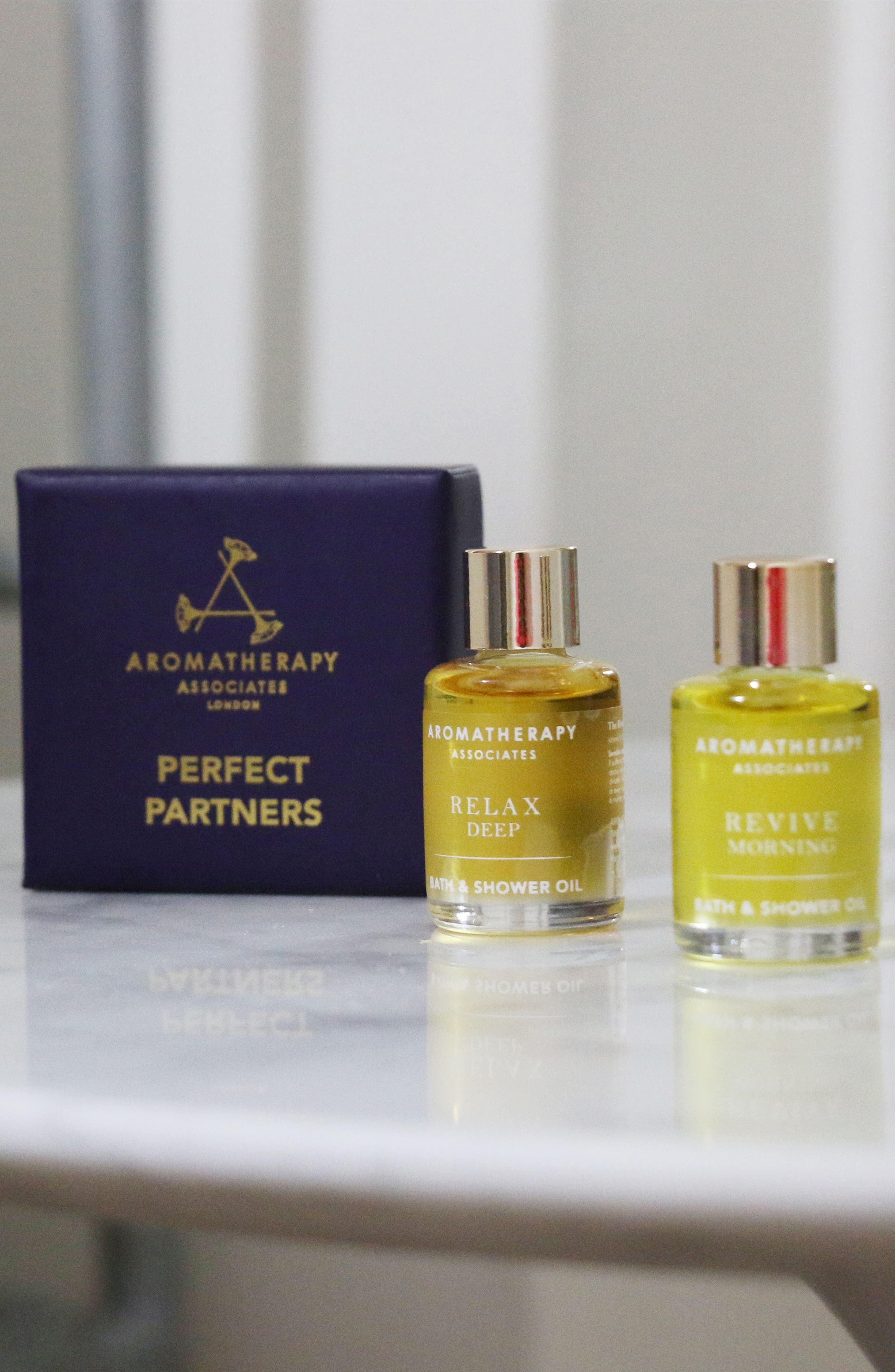 Alternate Image 5  - Aromatherapy Associates Perfect Partners Bath & Shower Oil Duo