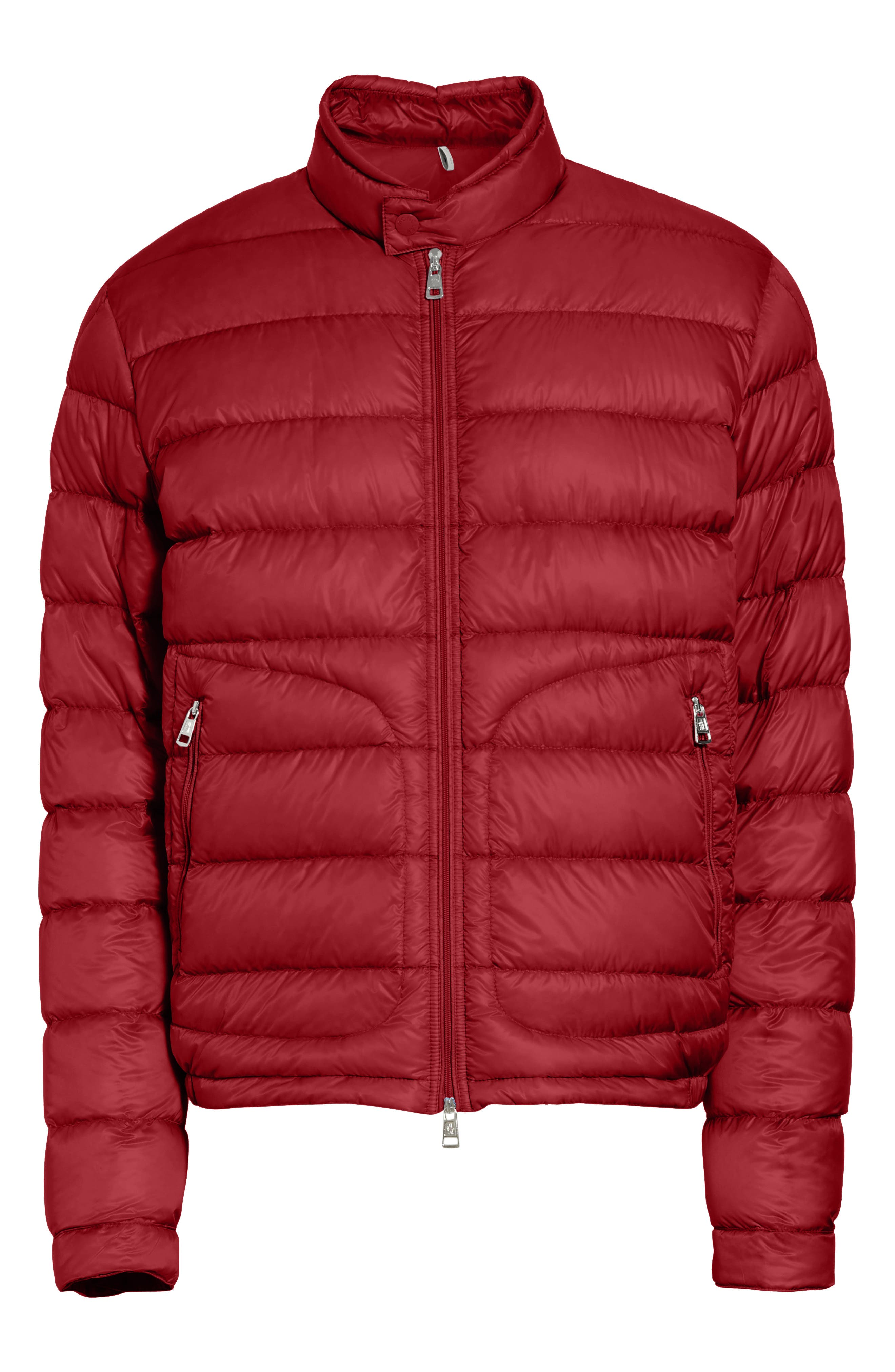 Acorus Down Quilted Jacket,                             Alternate thumbnail 6, color,                             Dark Red