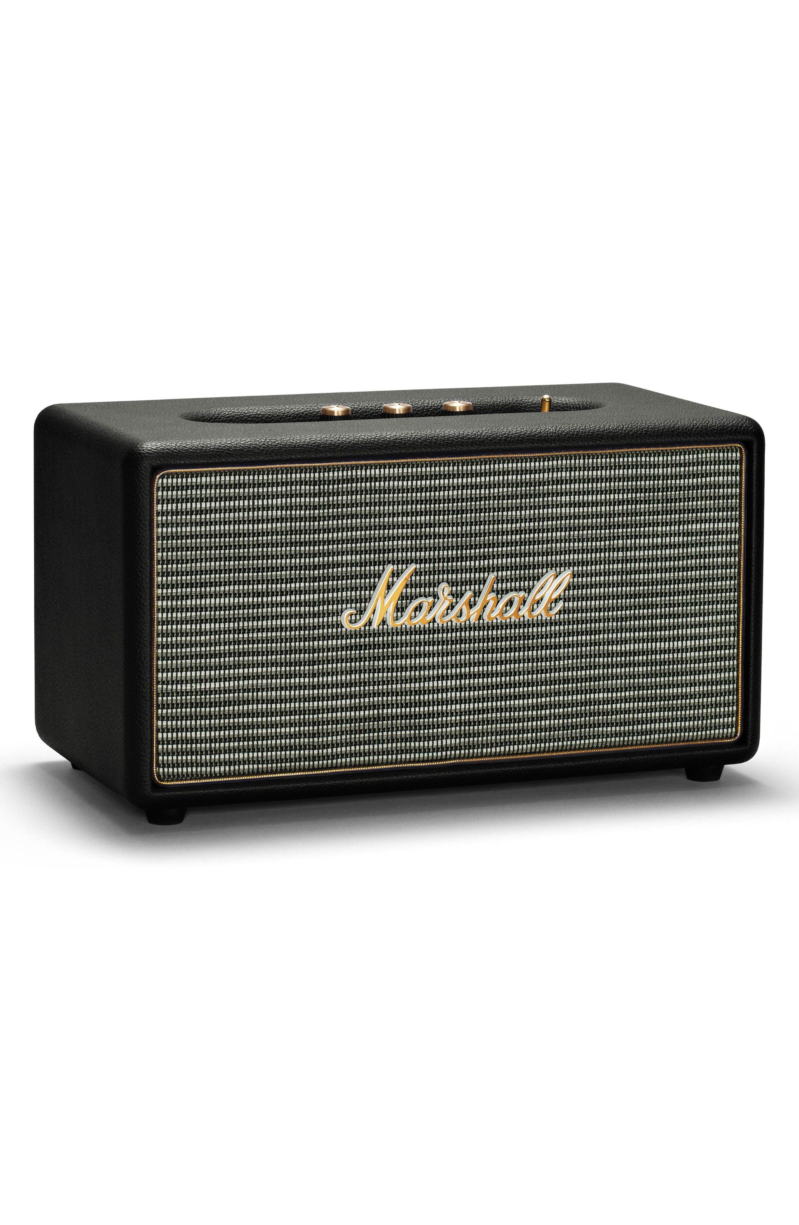 Stanmore Bluetooth Speaker,                             Alternate thumbnail 3, color,                             Black
