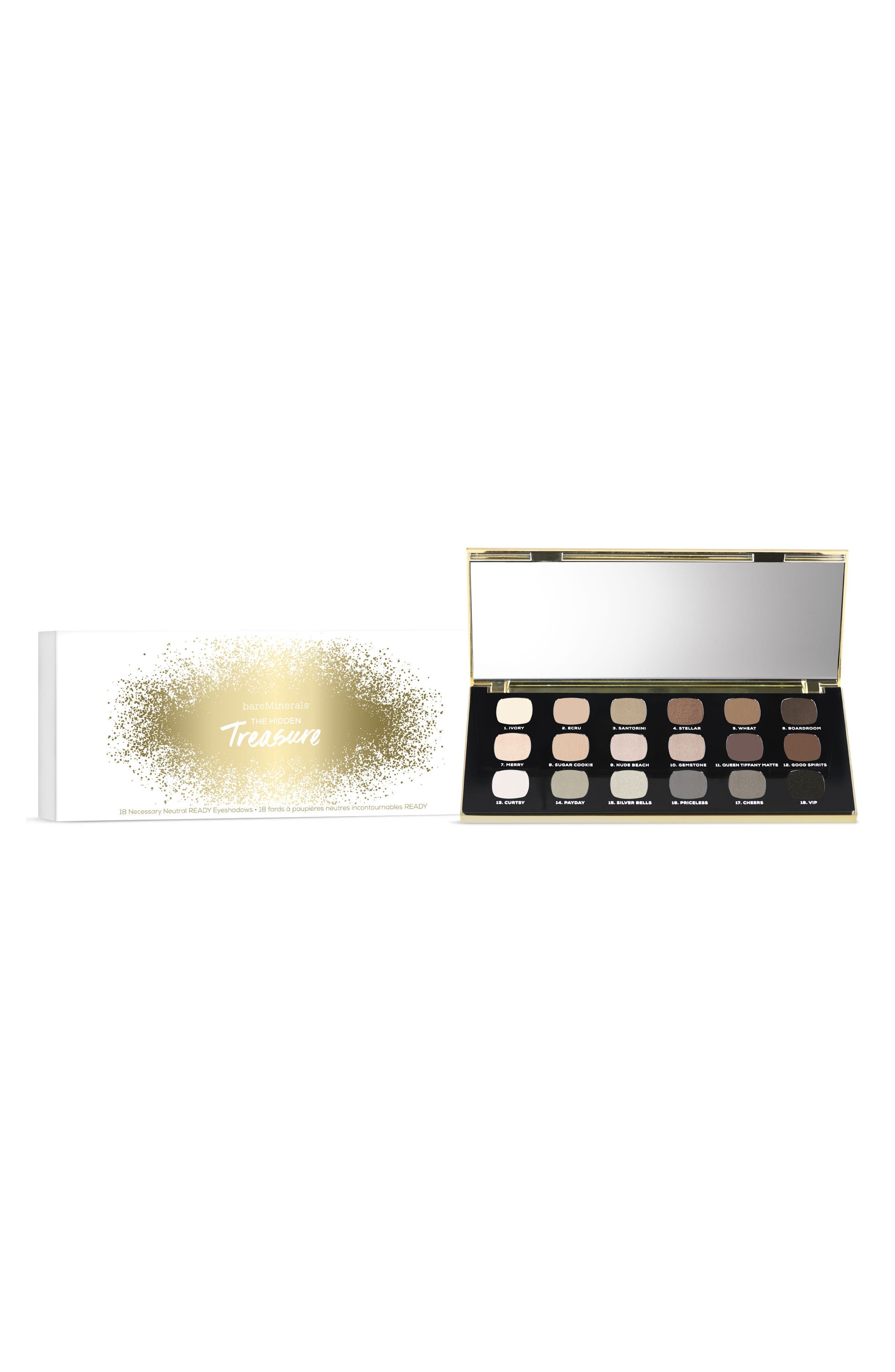 Alternate Image 1 Selected - bareMinerals® 18 Necessary Neutral READY Eyeshadows