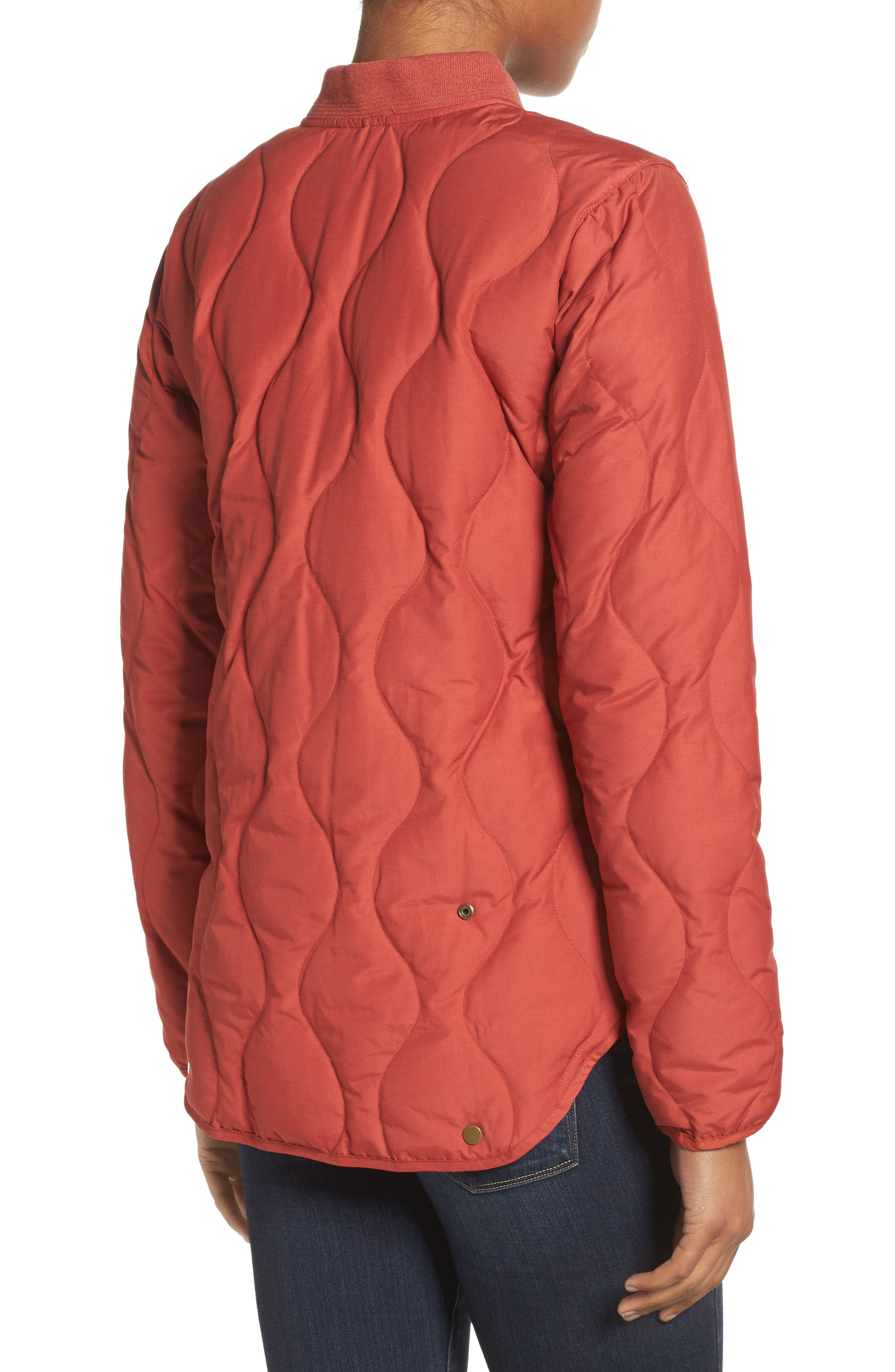 Kiley Quilted Down Insulator Jacket,                             Alternate thumbnail 2, color,                             Bitters