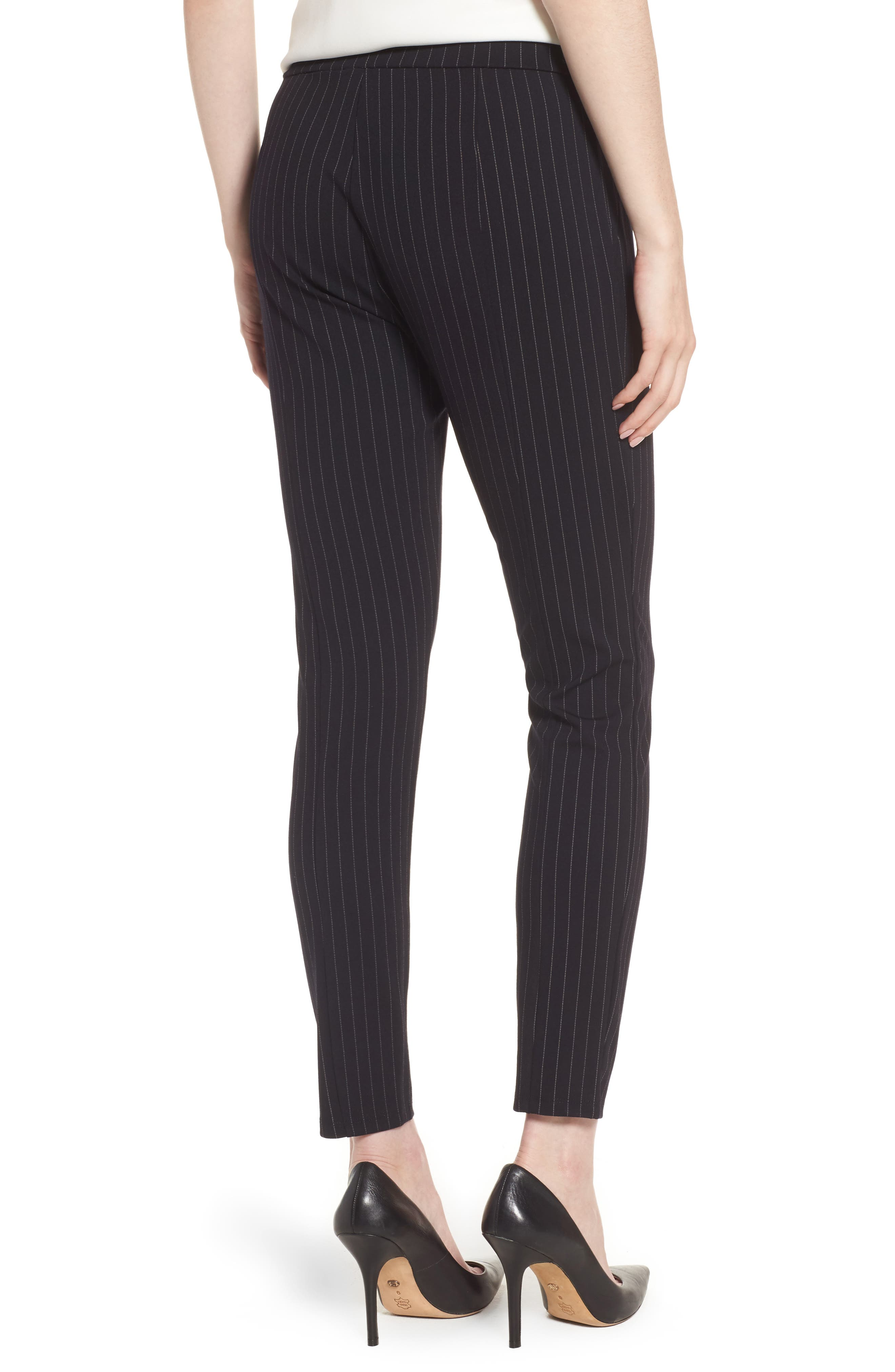 Alternate Image 2  - Kenneth Cole New York Pinstripe Leggings
