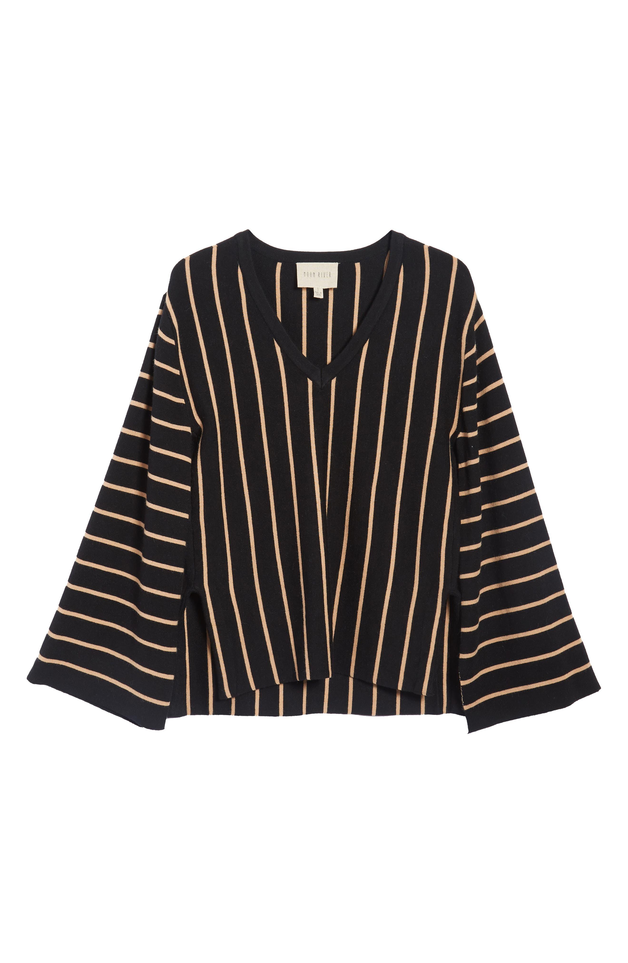 Alternate Image 7  - MOON RIVER Split Cuff Sweater