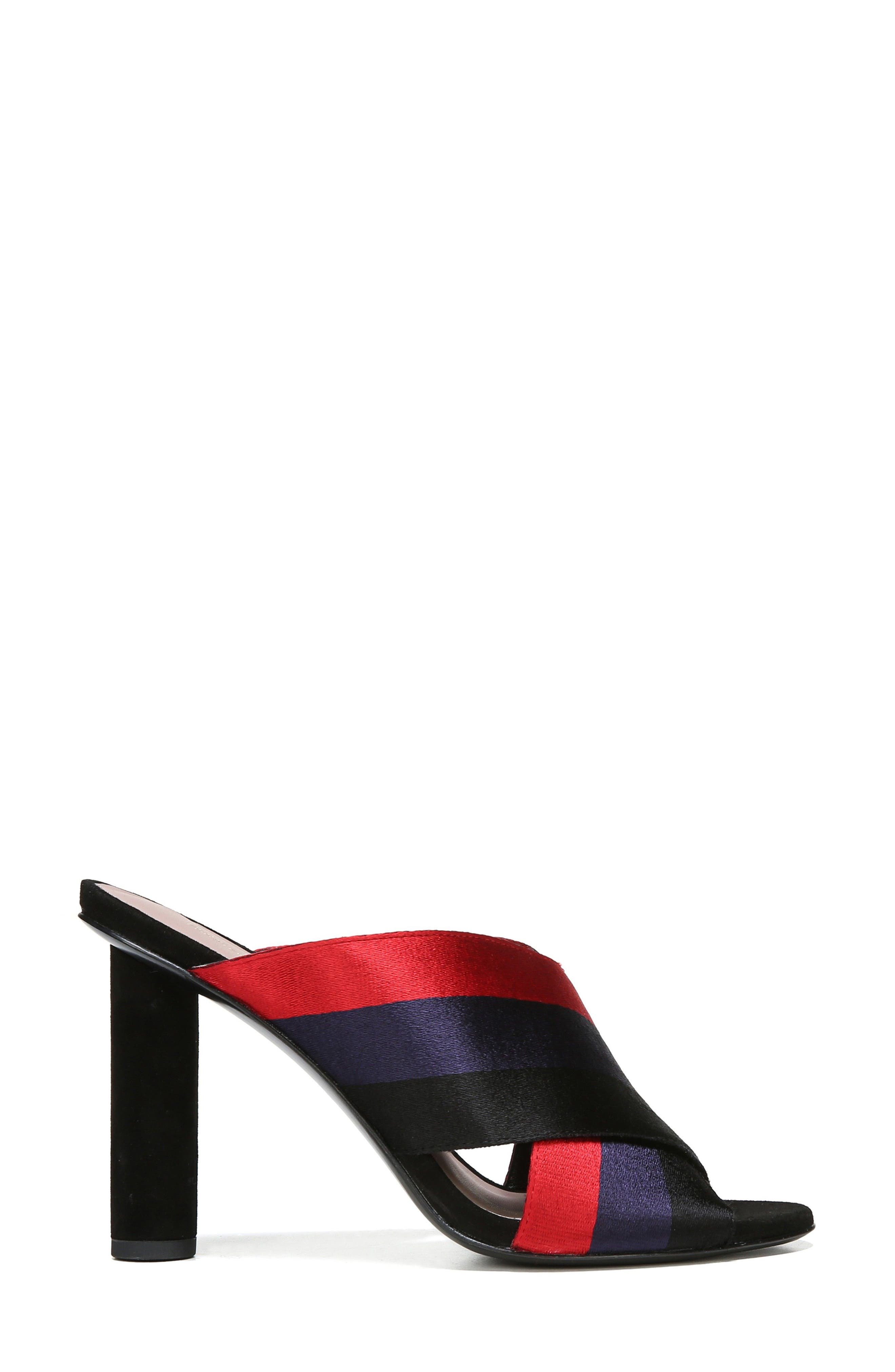 Emilyn Sandal,                             Alternate thumbnail 3, color,                             Navy/ Lipstick