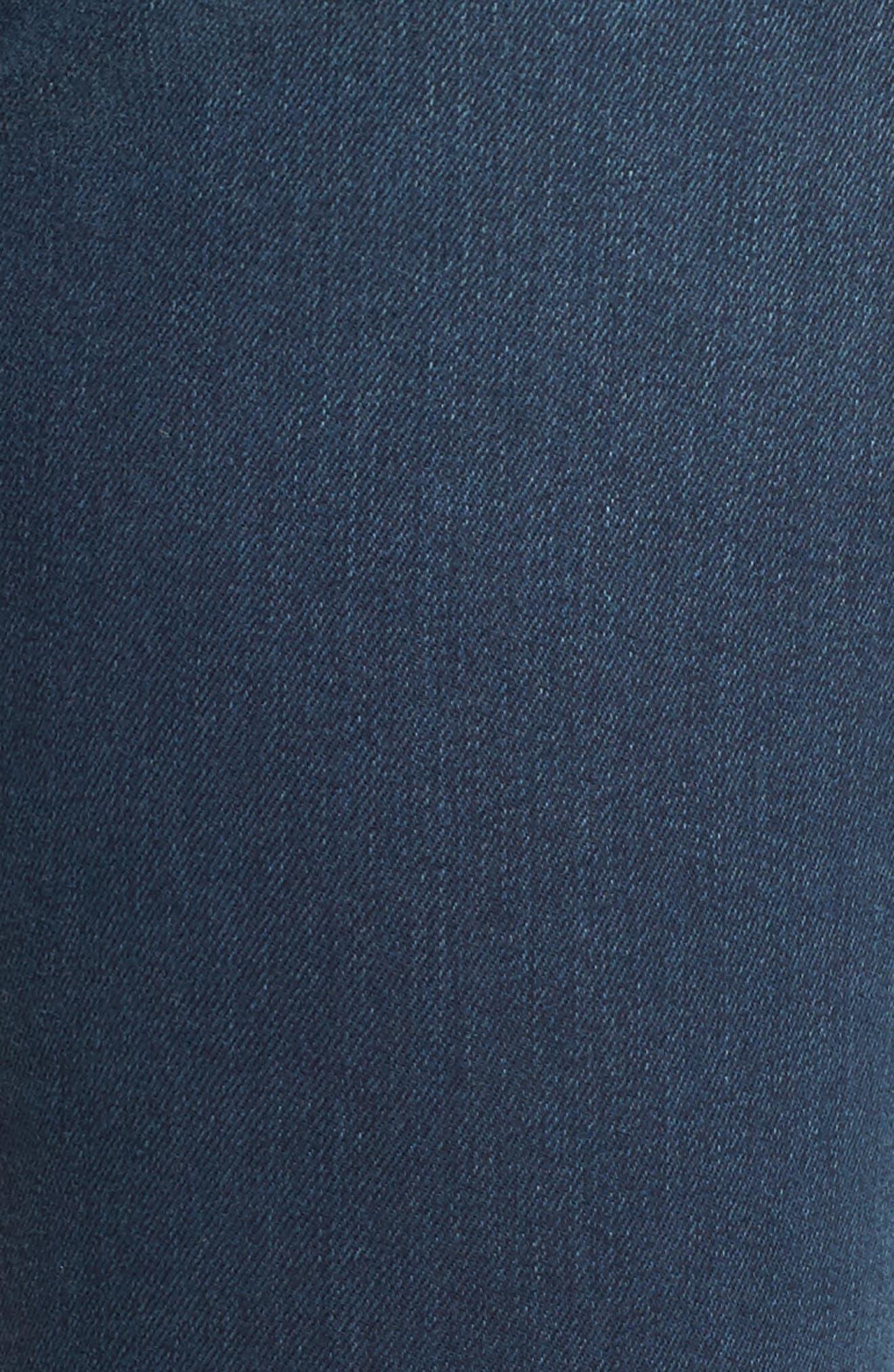 Ami Stretch Super Skinny Jeans,                             Alternate thumbnail 5, color,                             Rome