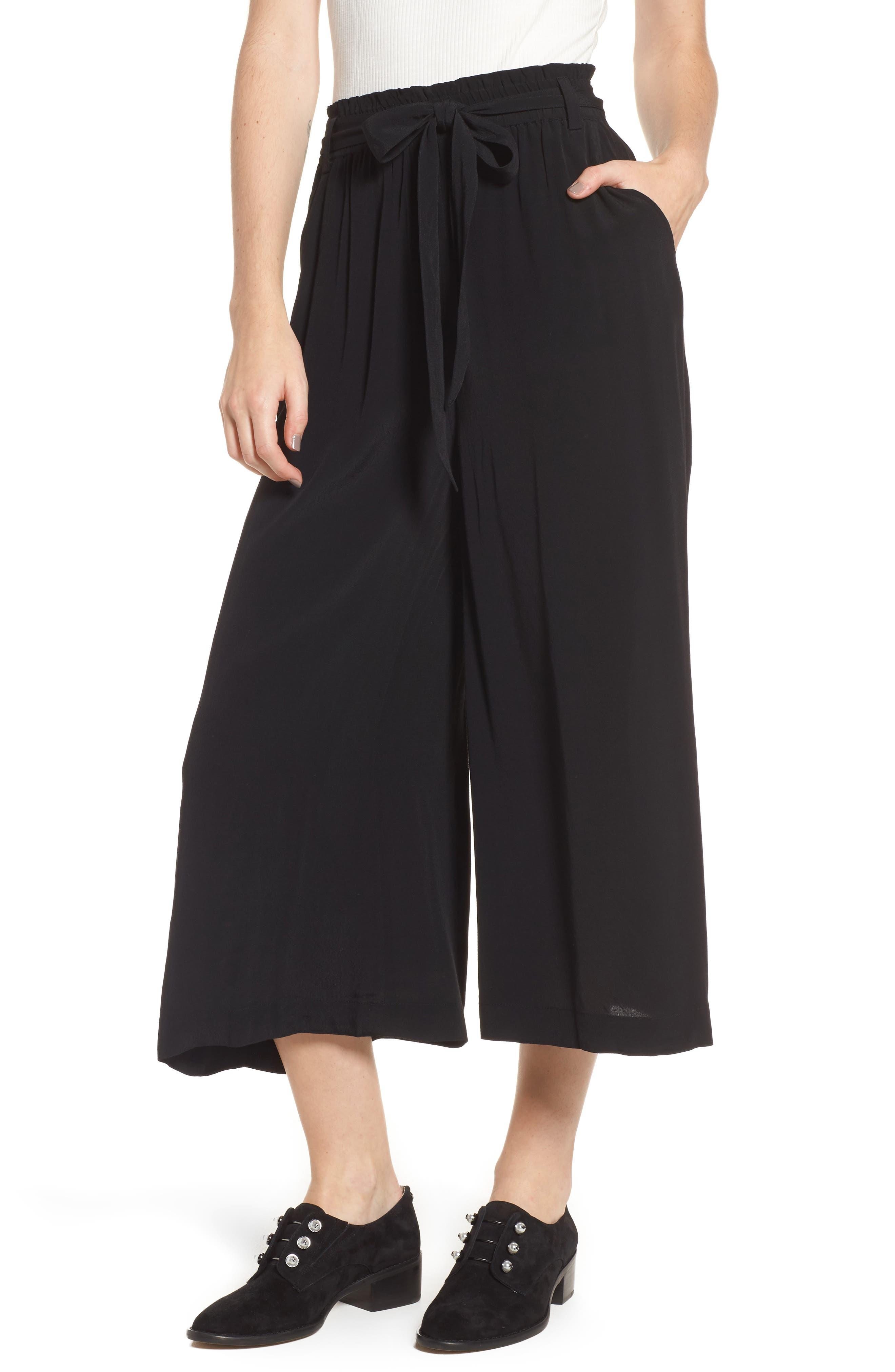 Alternate Image 1 Selected - BP. Tie Waist Crop Pants