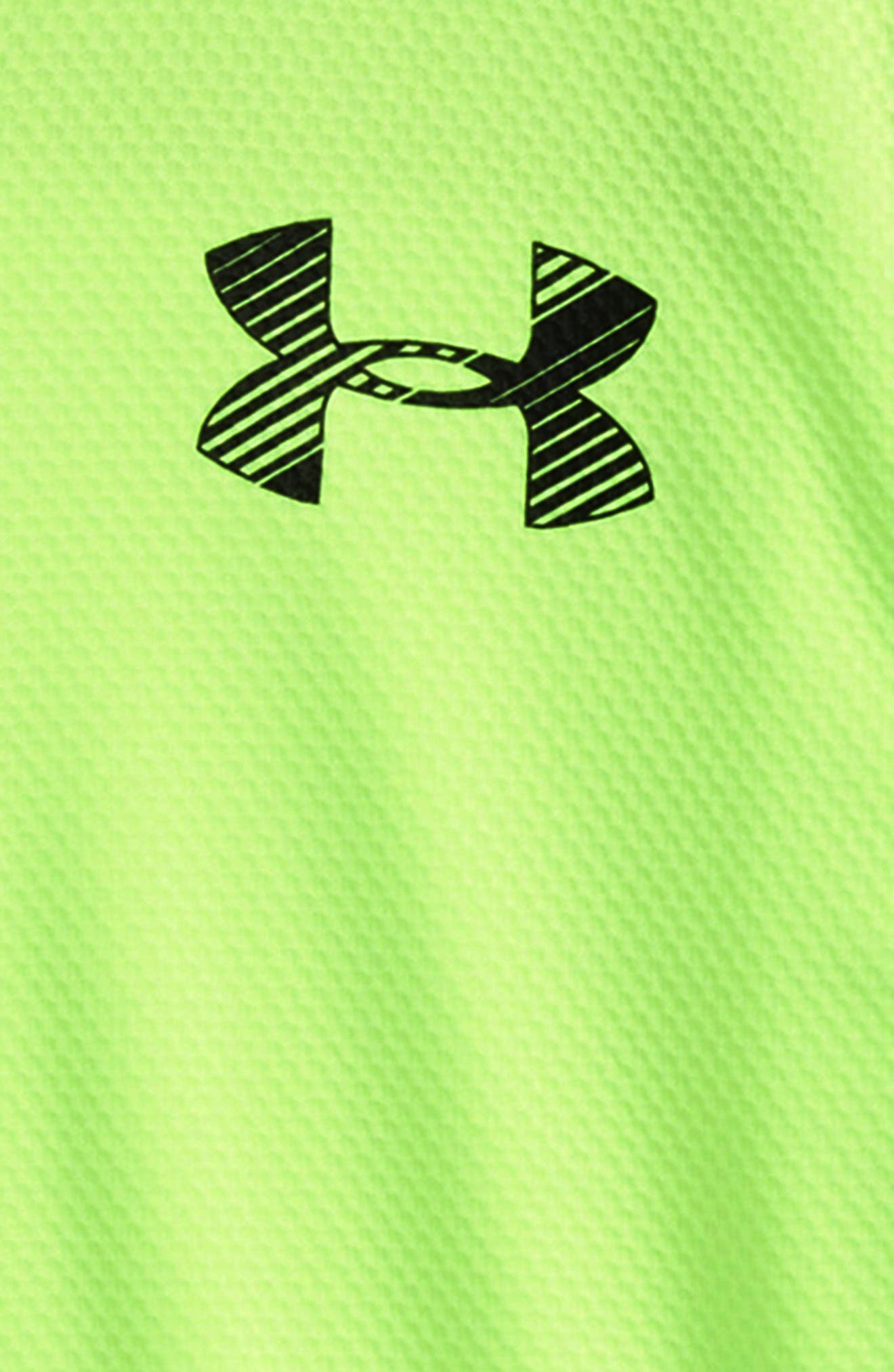 Alternate Image 2  - Under Armour Longevity Quarter Zip Top (Toddler Boys & Little Boys)