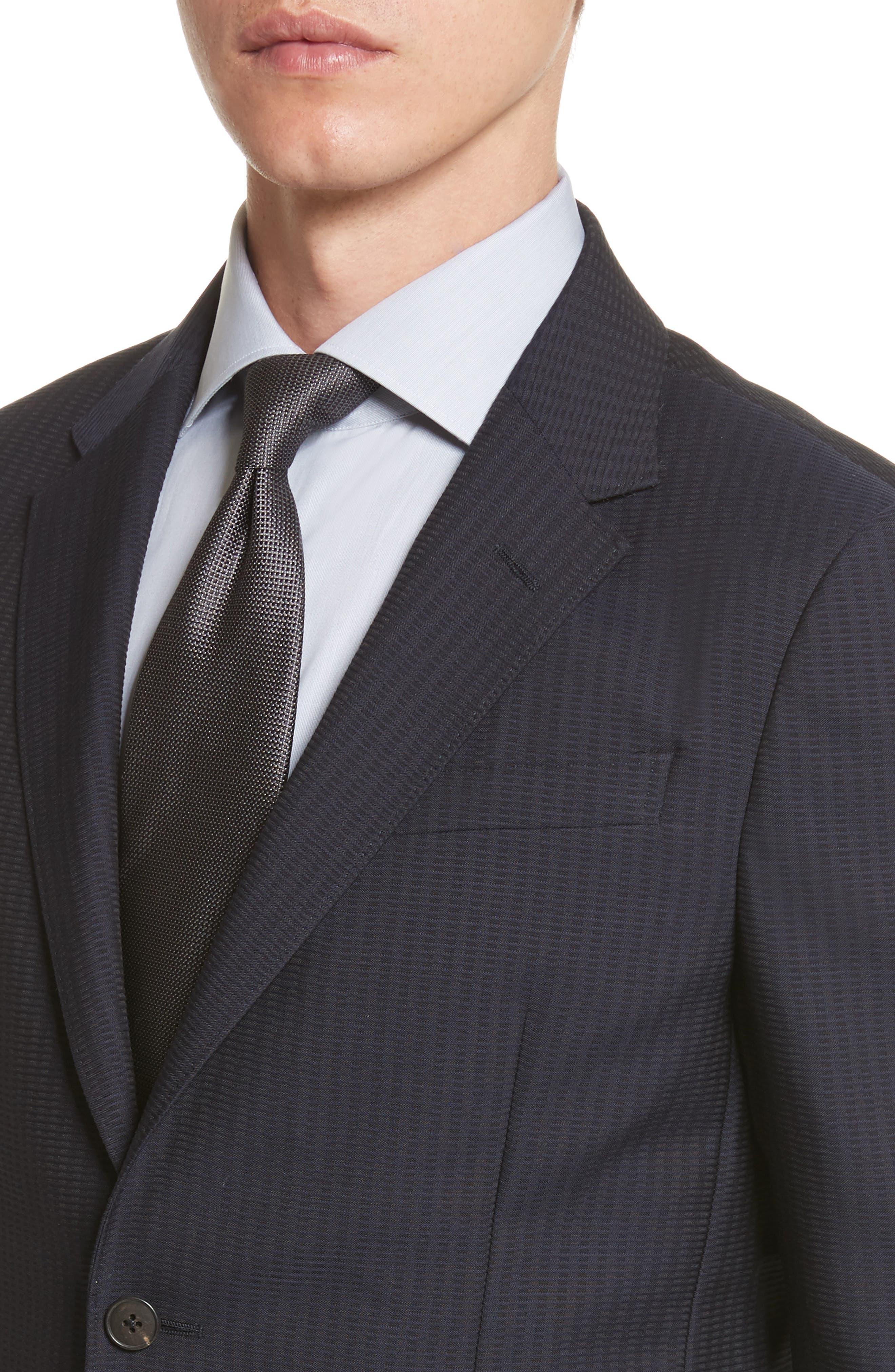 Alternate Image 4  - Z Zegna Classic Fit Stripe Cotton Blend Sport Coat