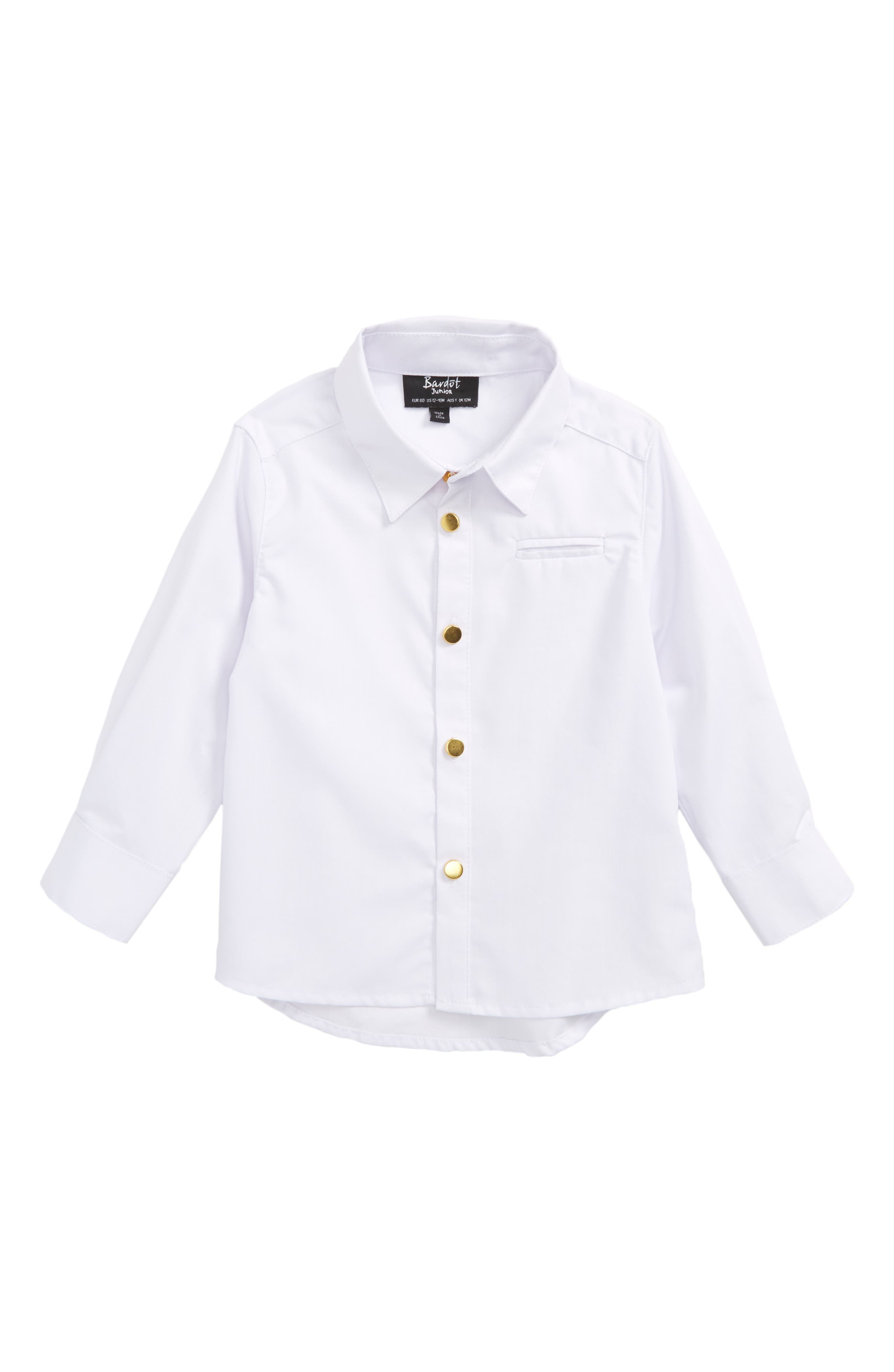 Bardot Junior Woven Shirt (Baby Boys)