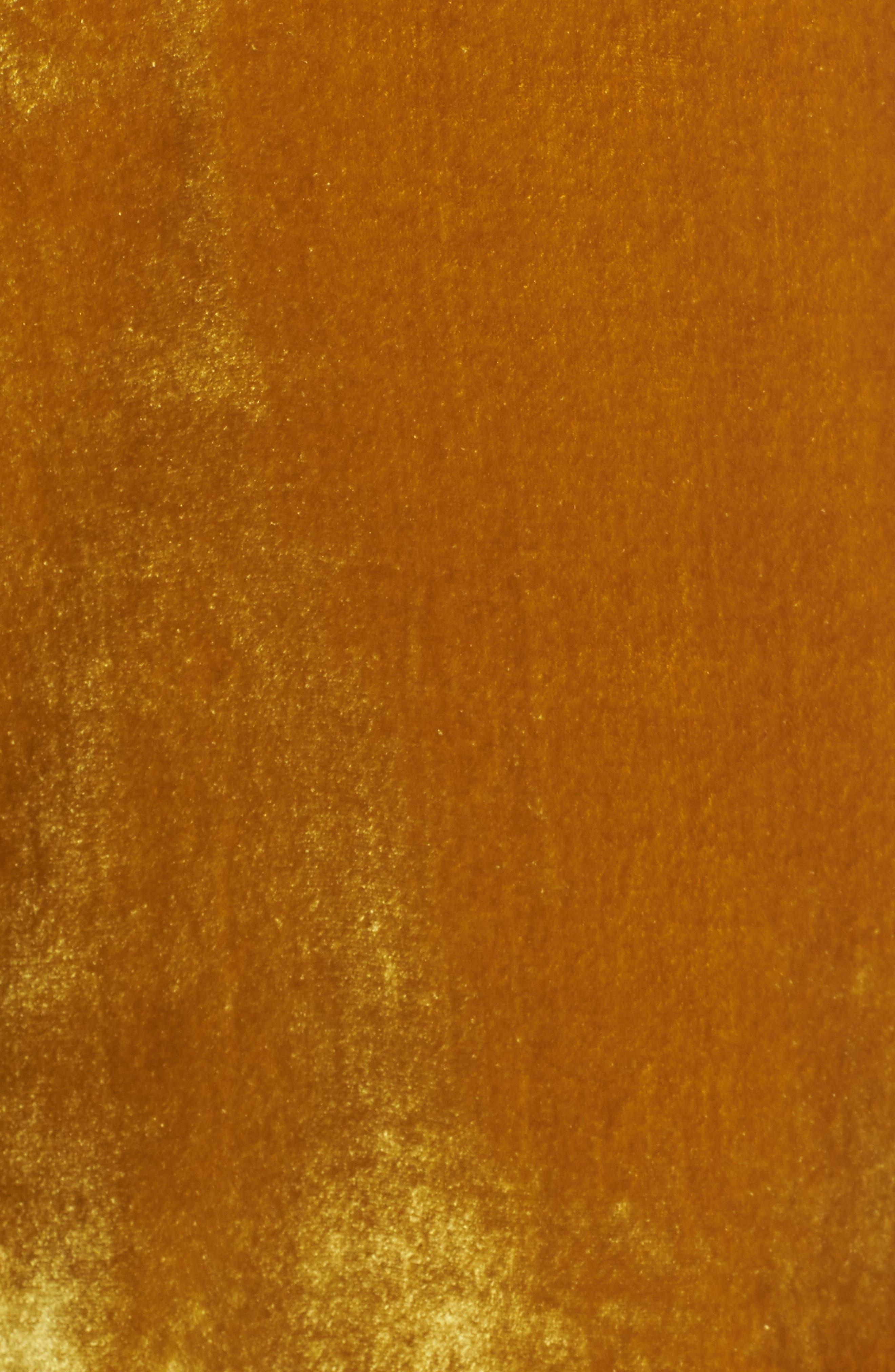 Velvet Button Camisole,                             Alternate thumbnail 5, color,                             Vintage Gold