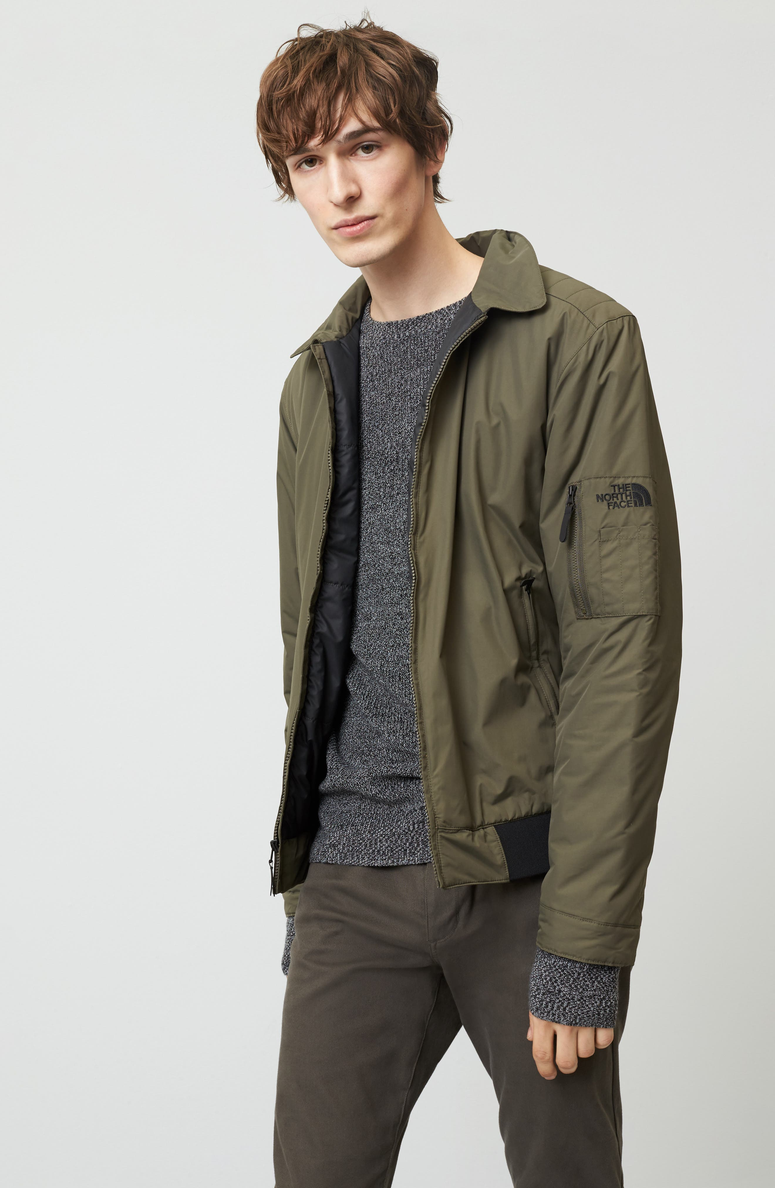 Alternate Image 7  - The North Face Barstol Aviator Jacket