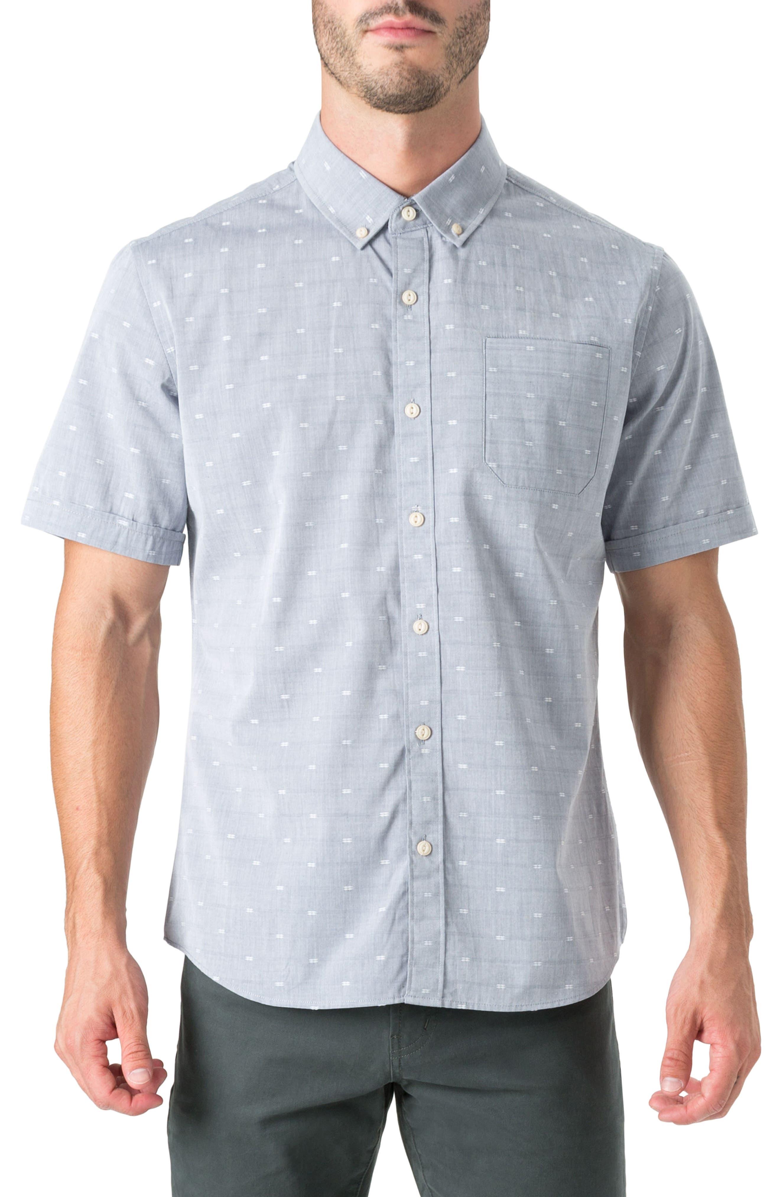 7 Diamonds Revolution Rock Woven Shirt