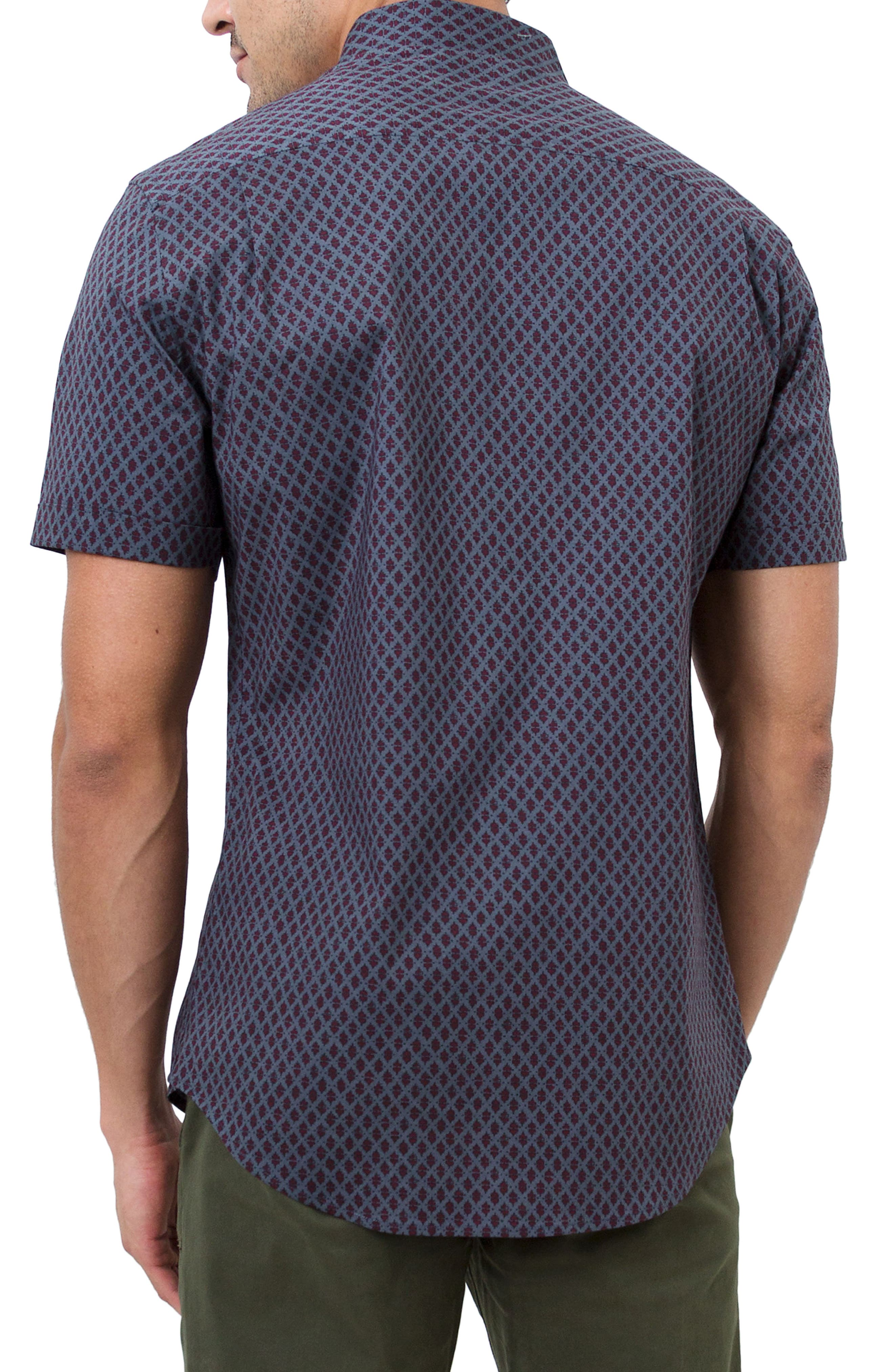 Dancing Mood Woven Shirt,                             Alternate thumbnail 2, color,                             Navy