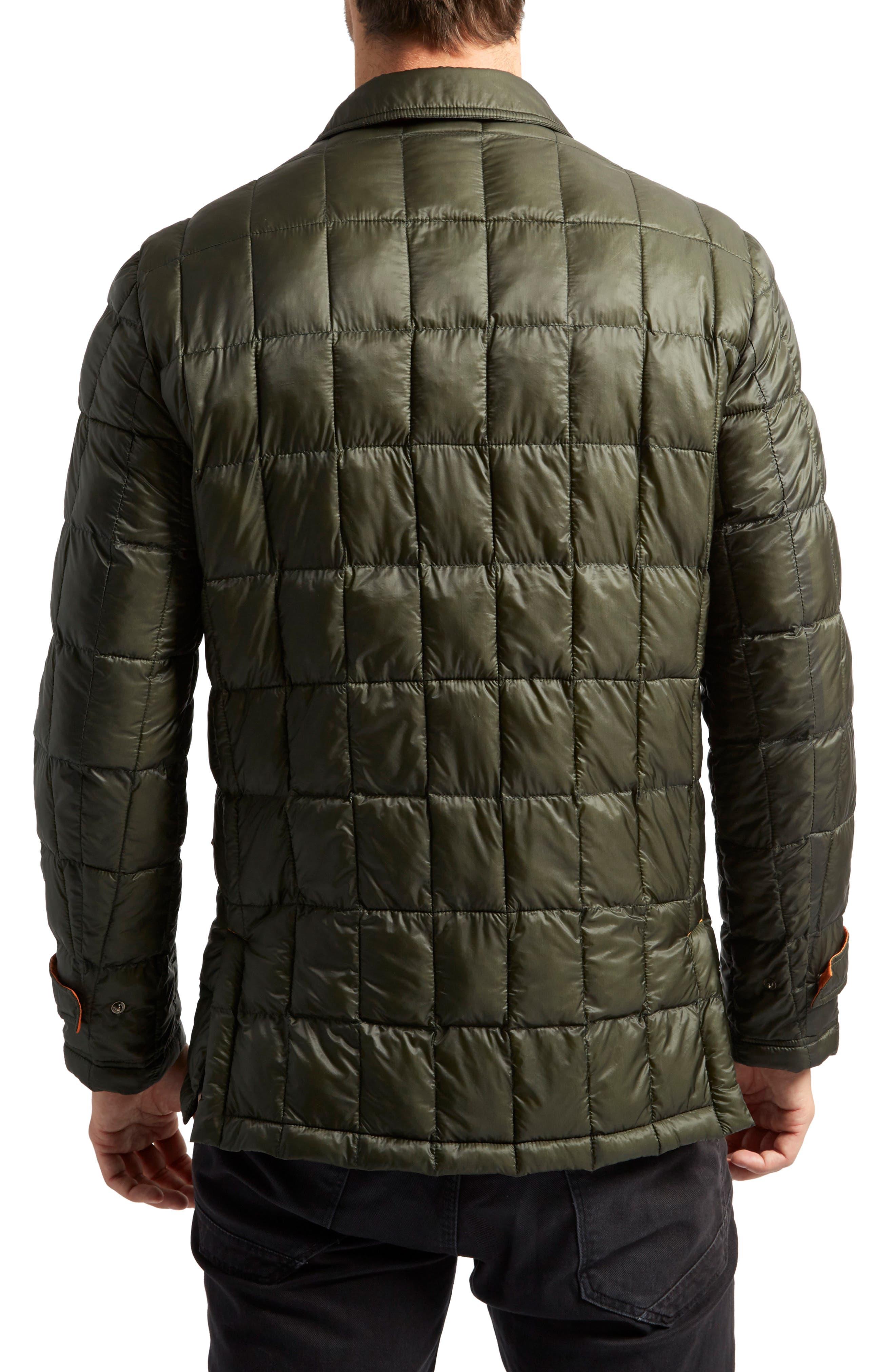 Butler Heat System Quilted Walking Jacket,                             Alternate thumbnail 2, color,                             Kale