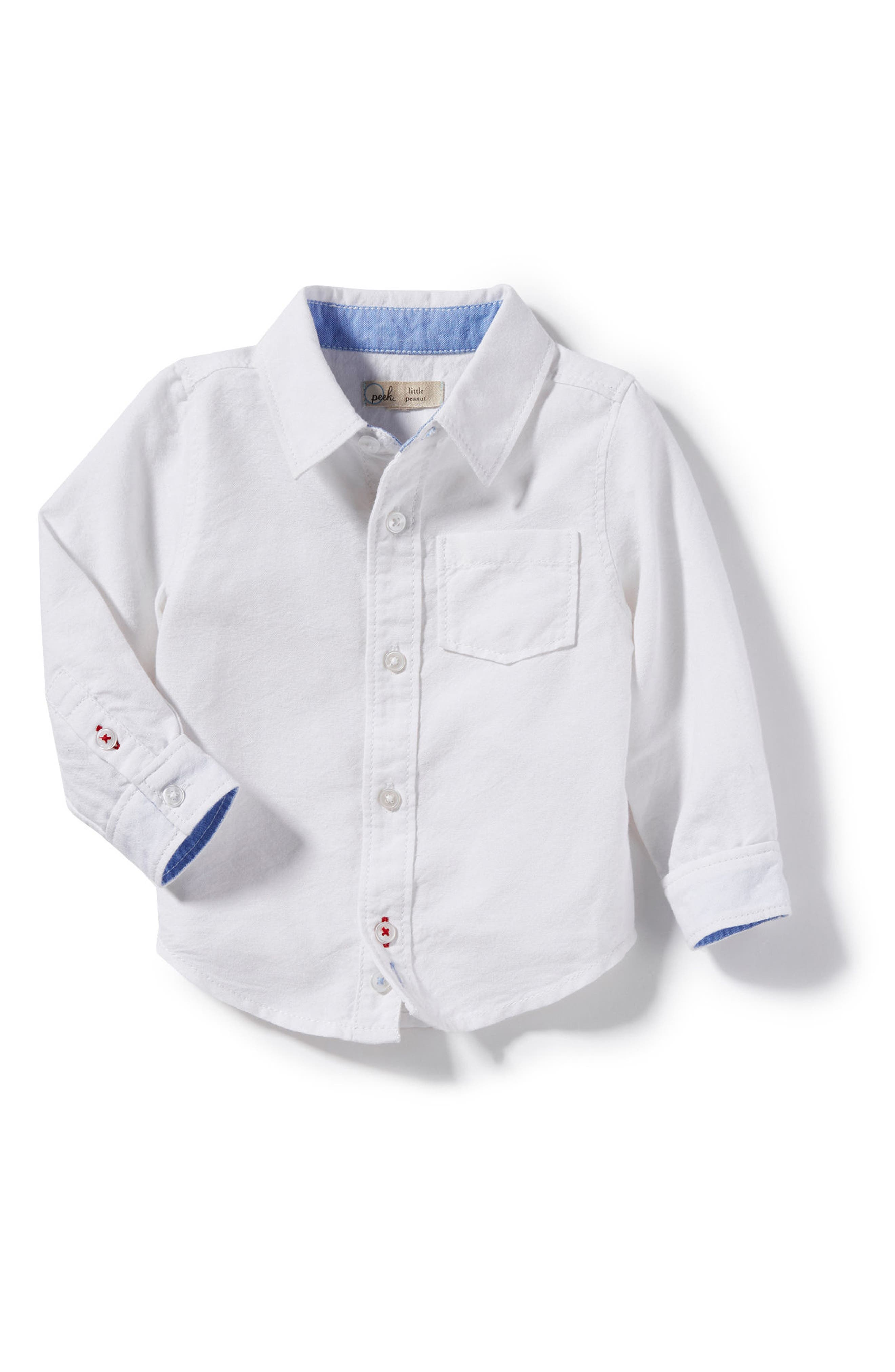 Peek Thomas Oxford Shirt (Baby Boys)