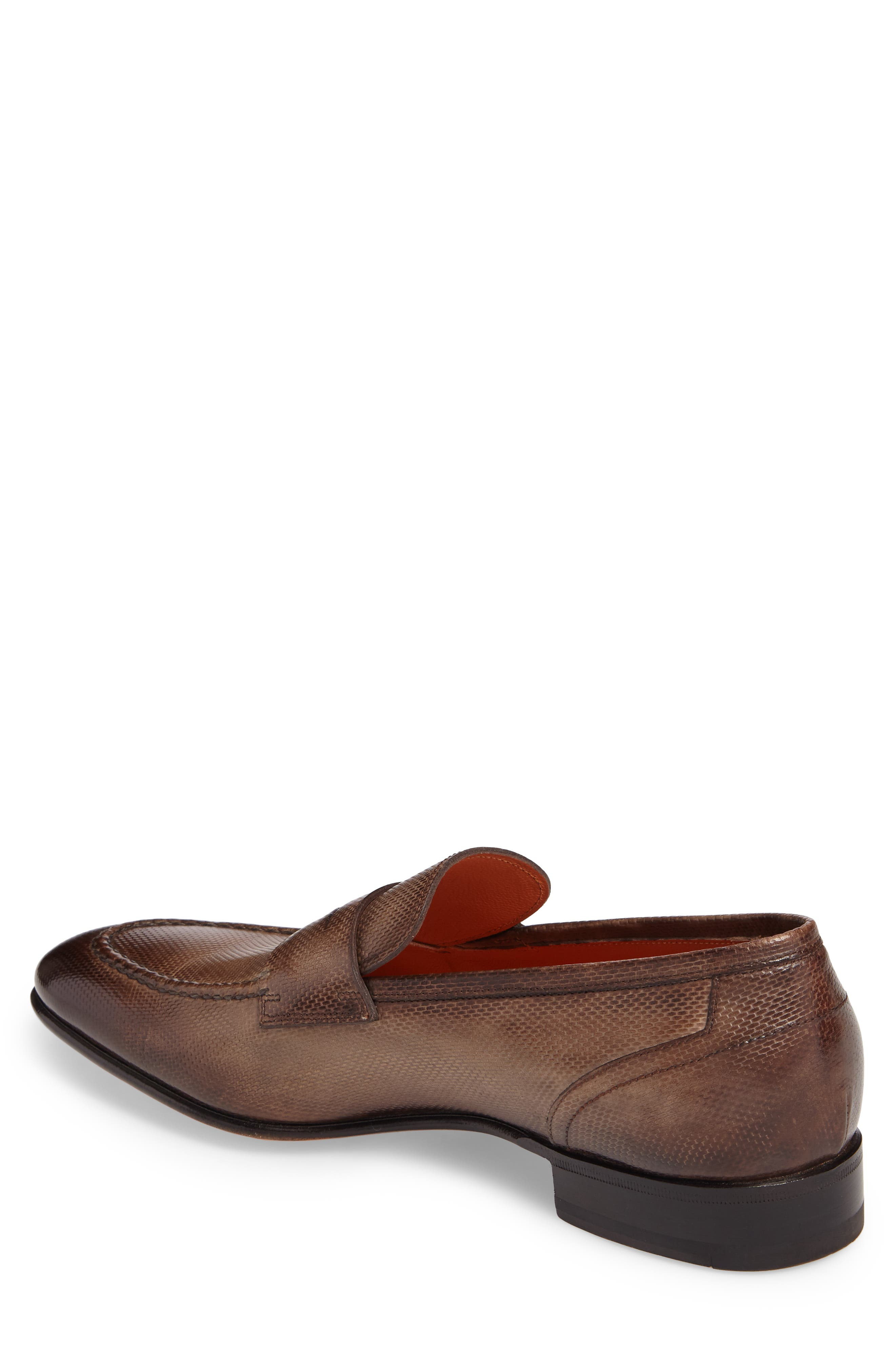Felipe Penny Loafer,                             Alternate thumbnail 2, color,                             Brown