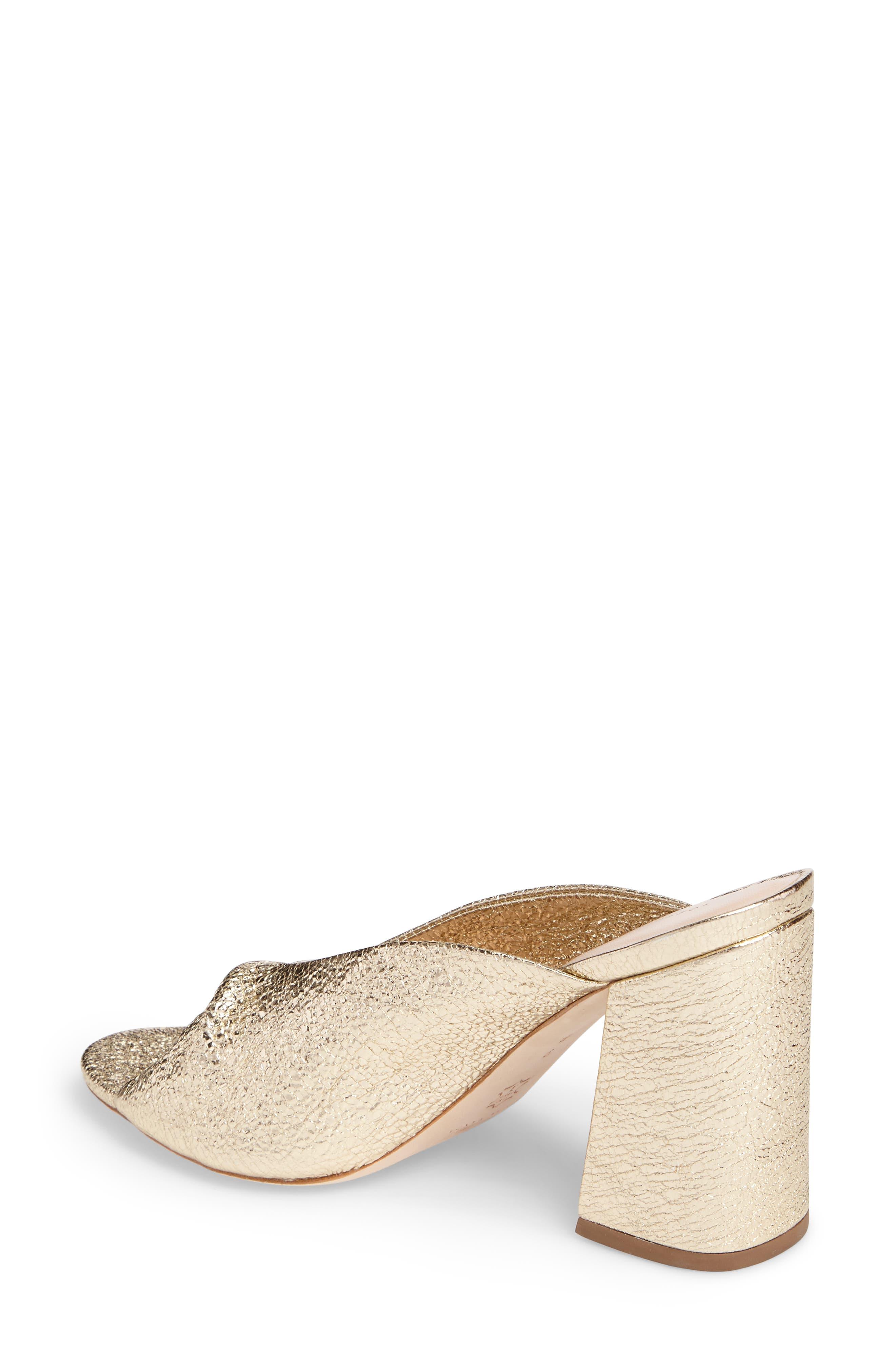 Laurel Slide Sandal,                             Alternate thumbnail 2, color,                             Champagne