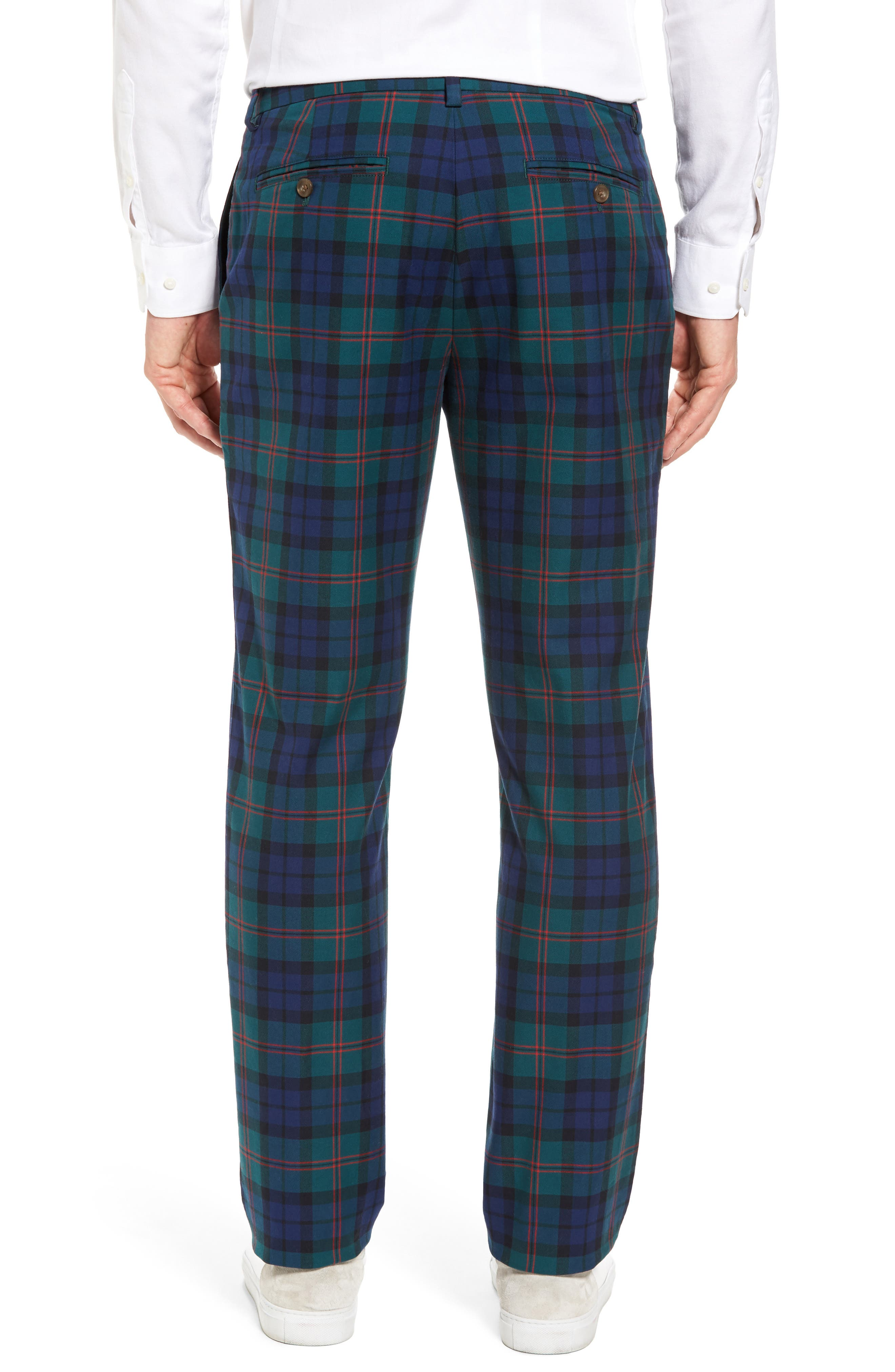 Alternate Image 2  - vineyard vines Breaker Holiday Tartan Pants
