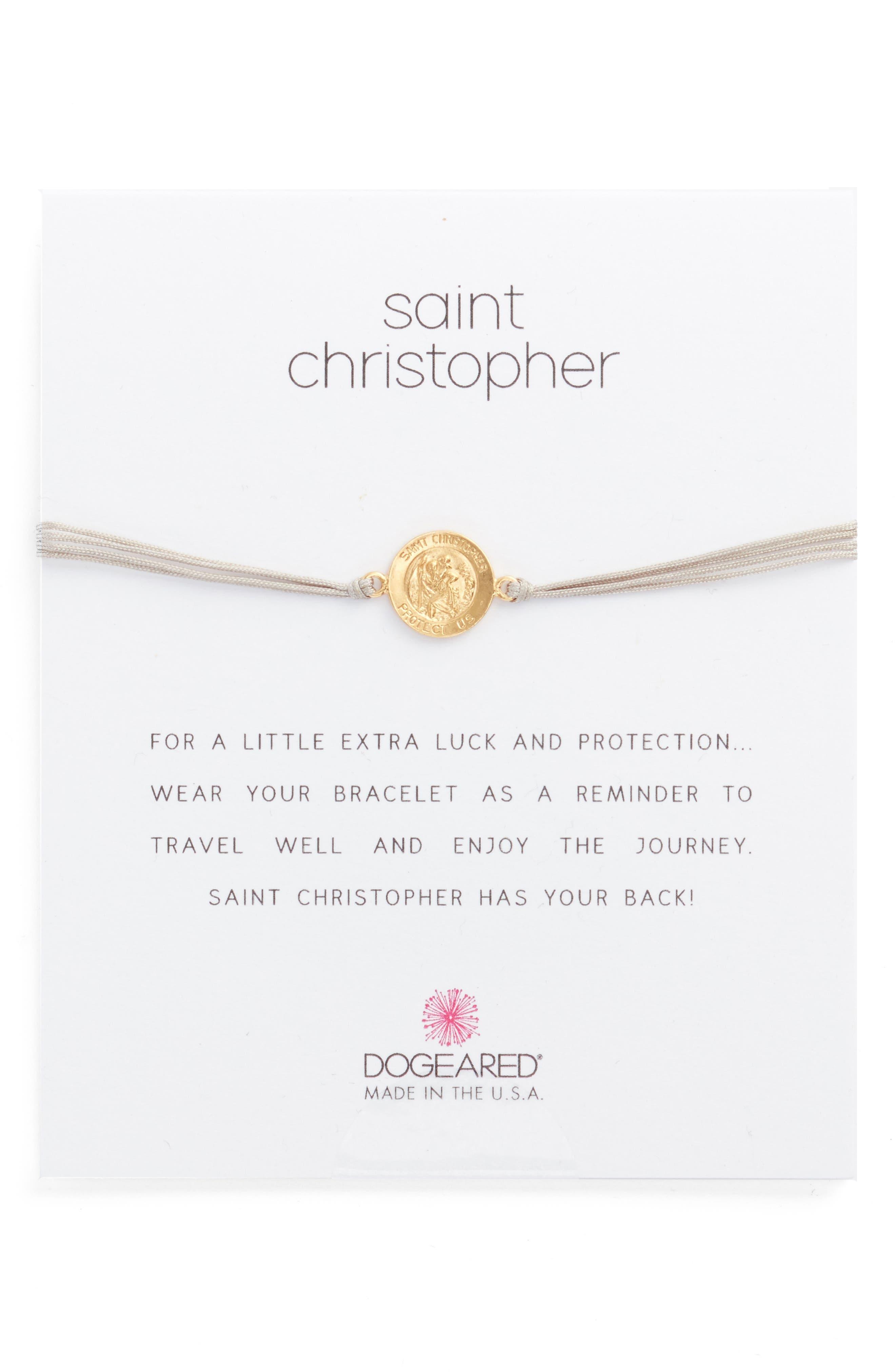 Dogeared Saint Christopher Bracelet